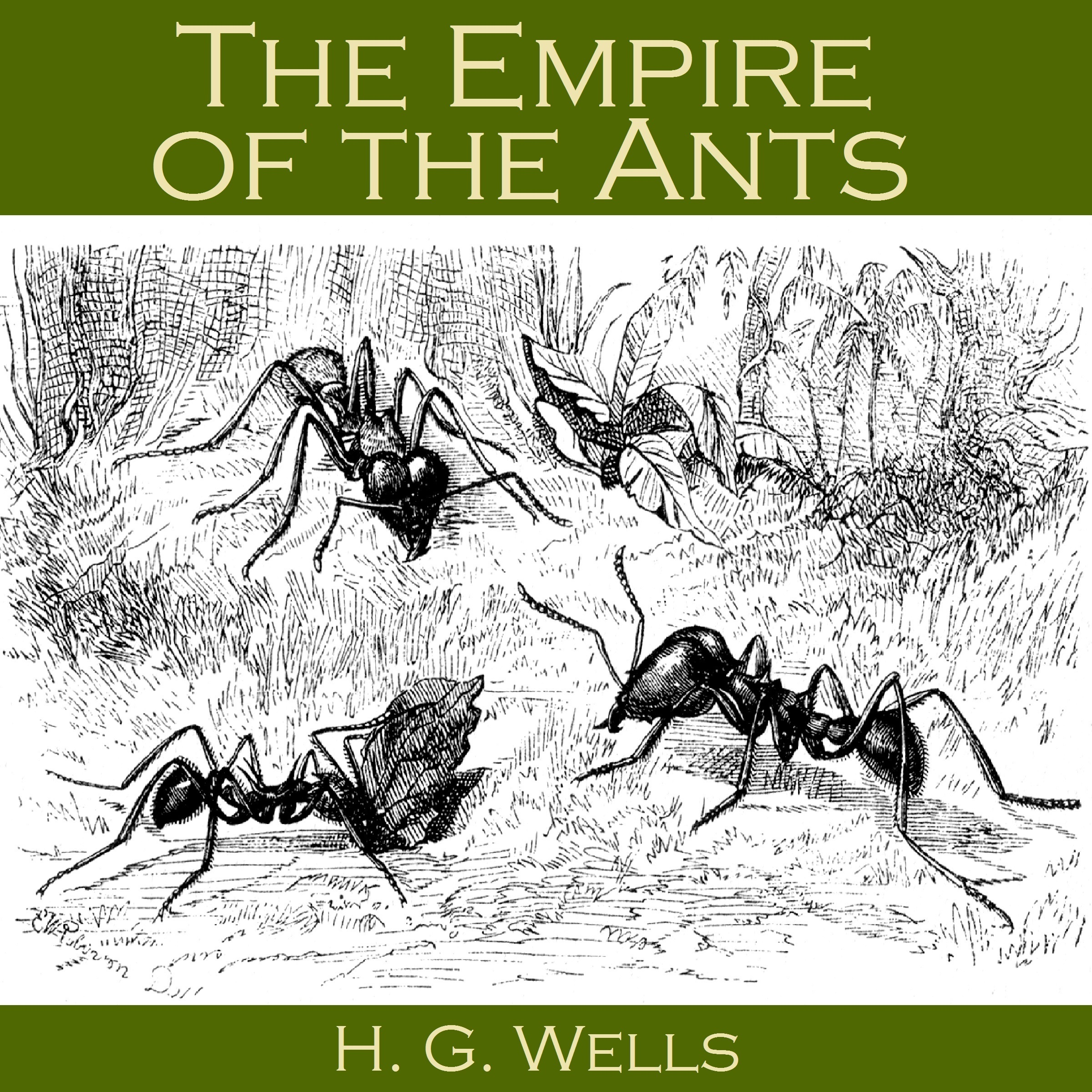 Printable The Empire of the Ants Audiobook Cover Art
