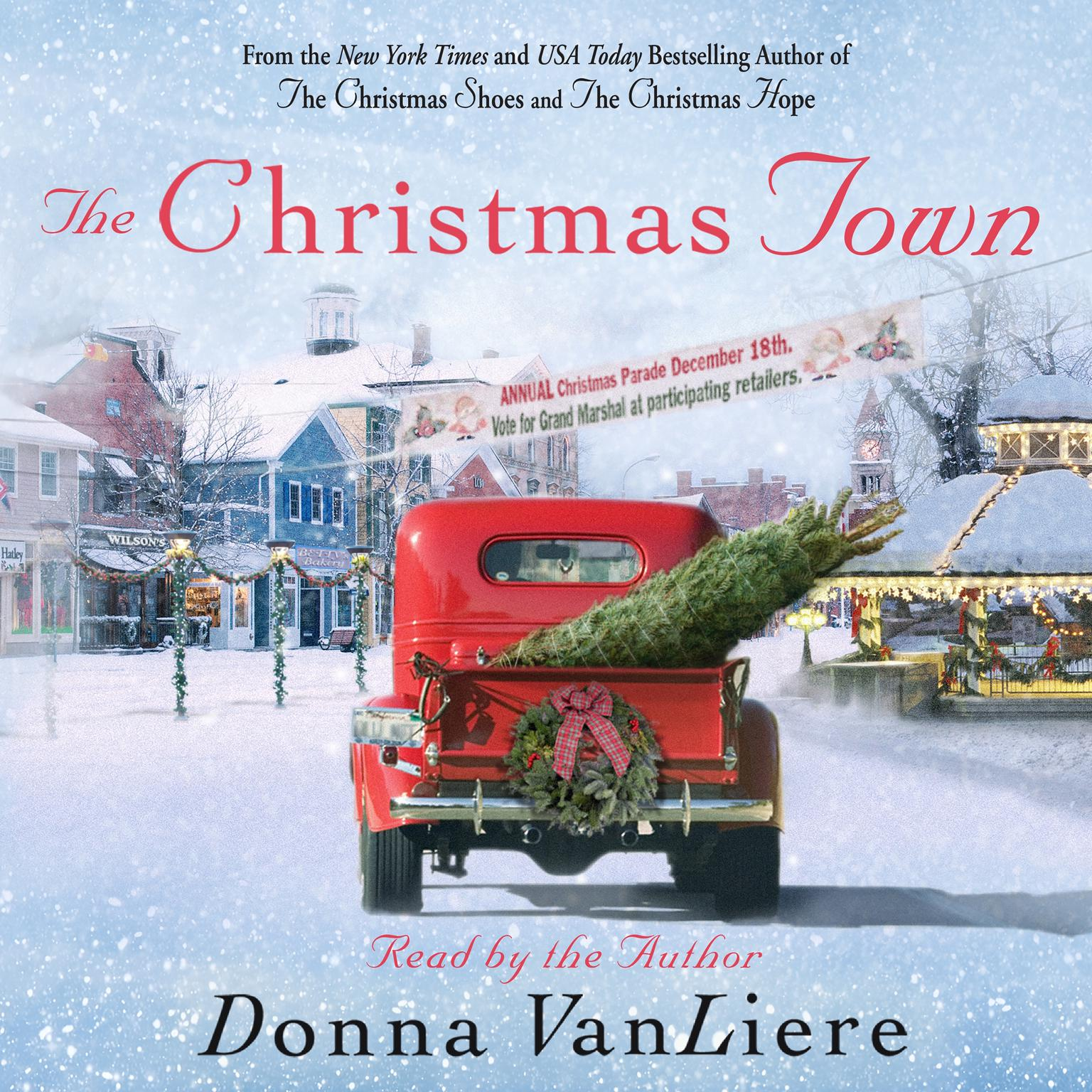 Printable The Christmas Town: A Novel Audiobook Cover Art