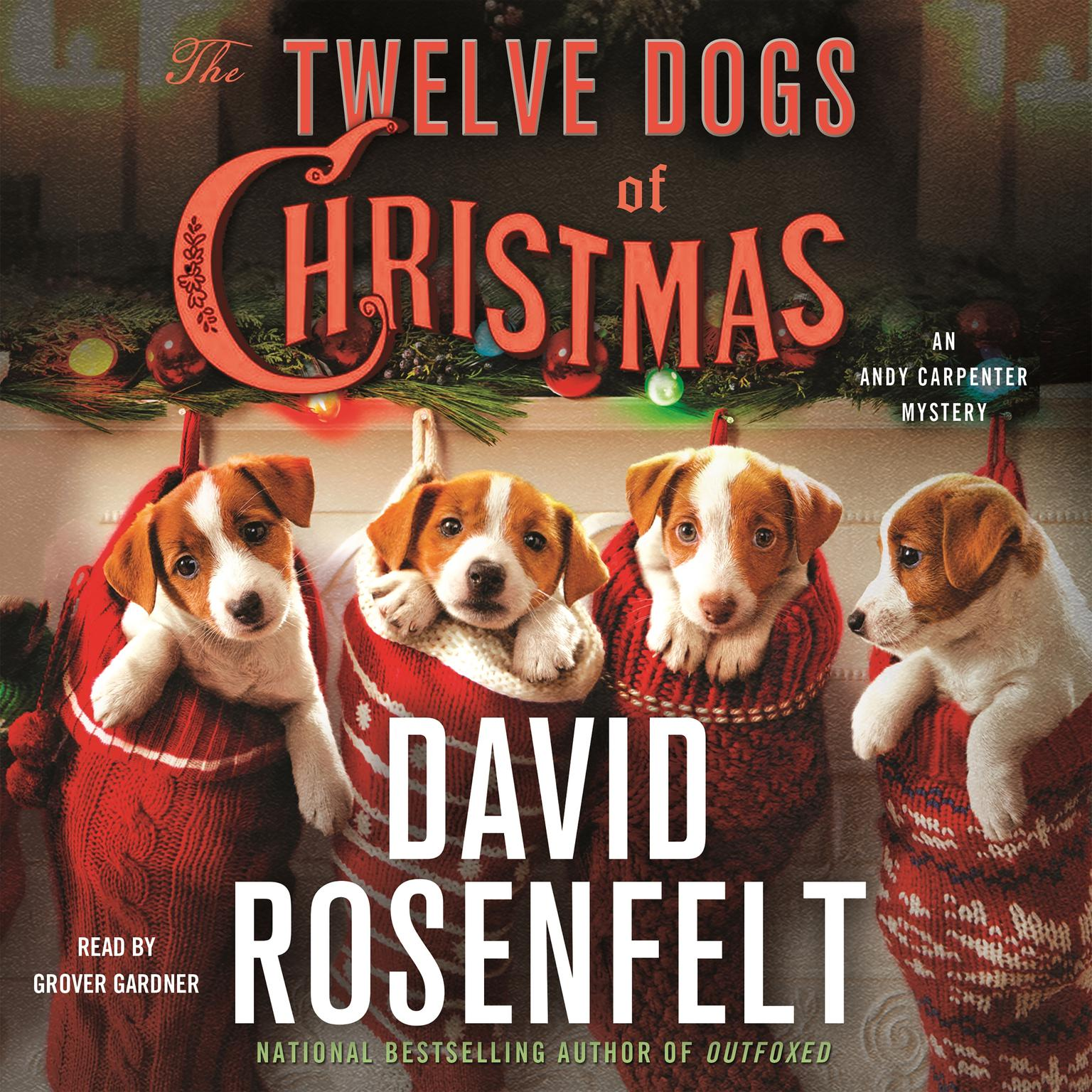 Printable The Twelve Dogs of Christmas: An Andy Carpenter Mystery Audiobook Cover Art