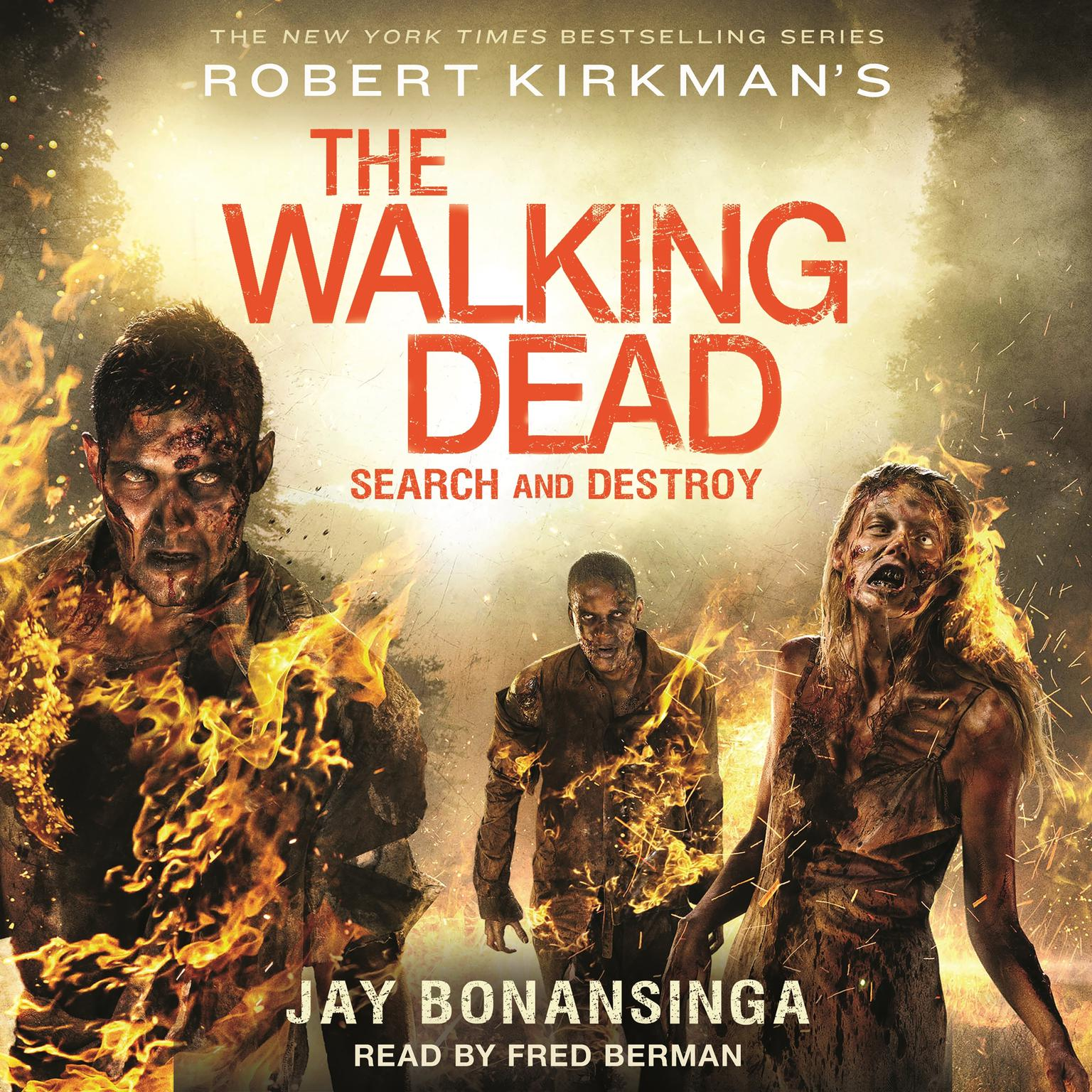 Printable Robert Kirkman's The Walking Dead: Search and Destroy: Search and Destroy Audiobook Cover Art