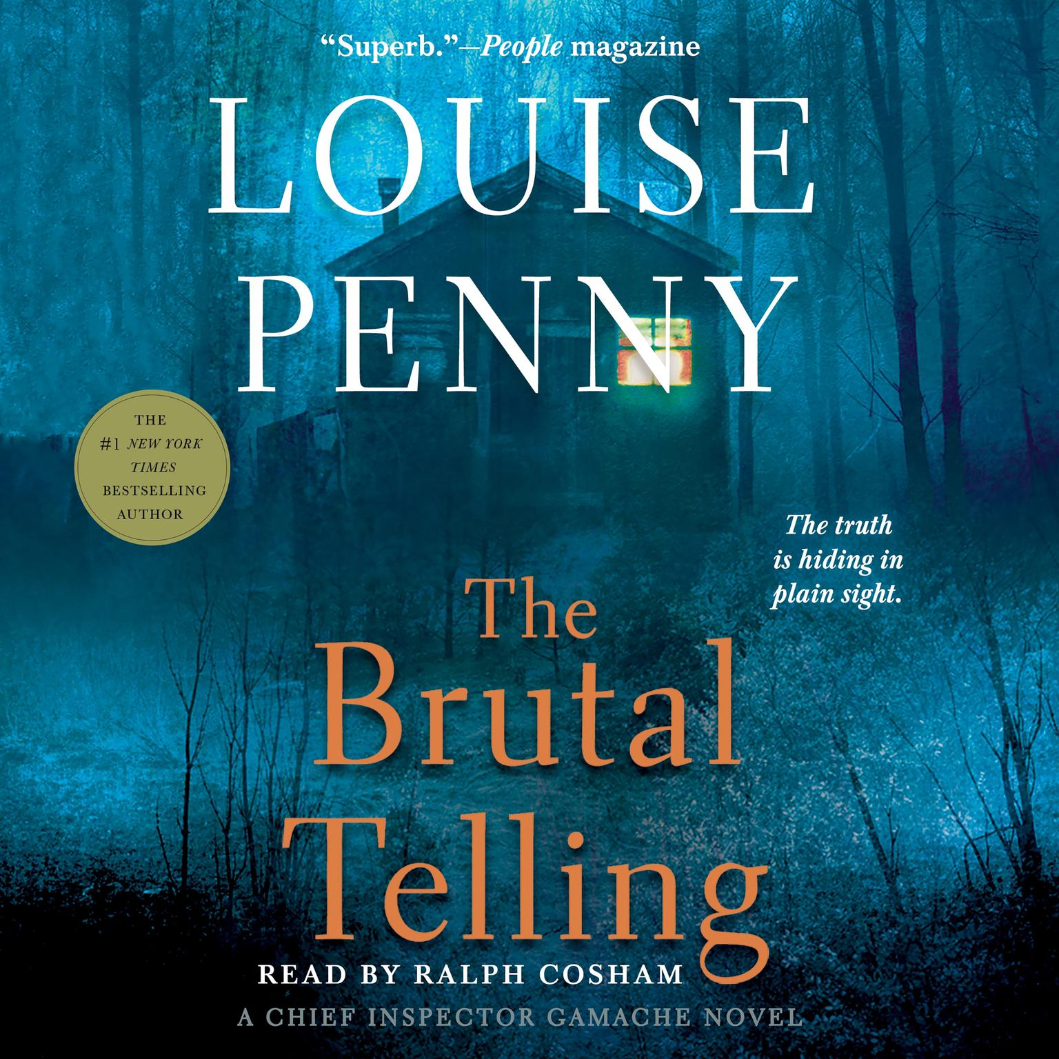 Printable The Brutal Telling: A Chief Inspector Gamache Novel Audiobook Cover Art