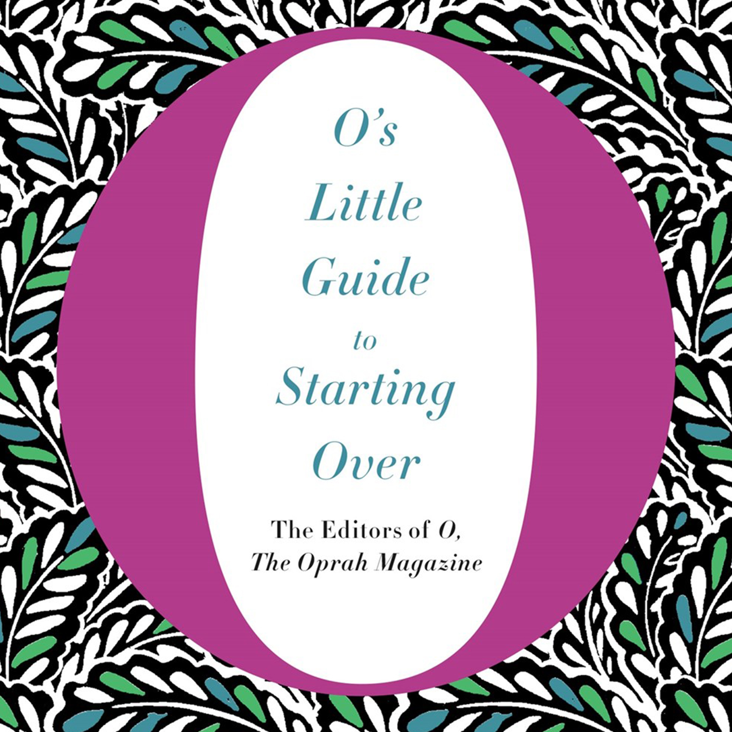 Printable O's Little Guide to Starting Over Audiobook Cover Art