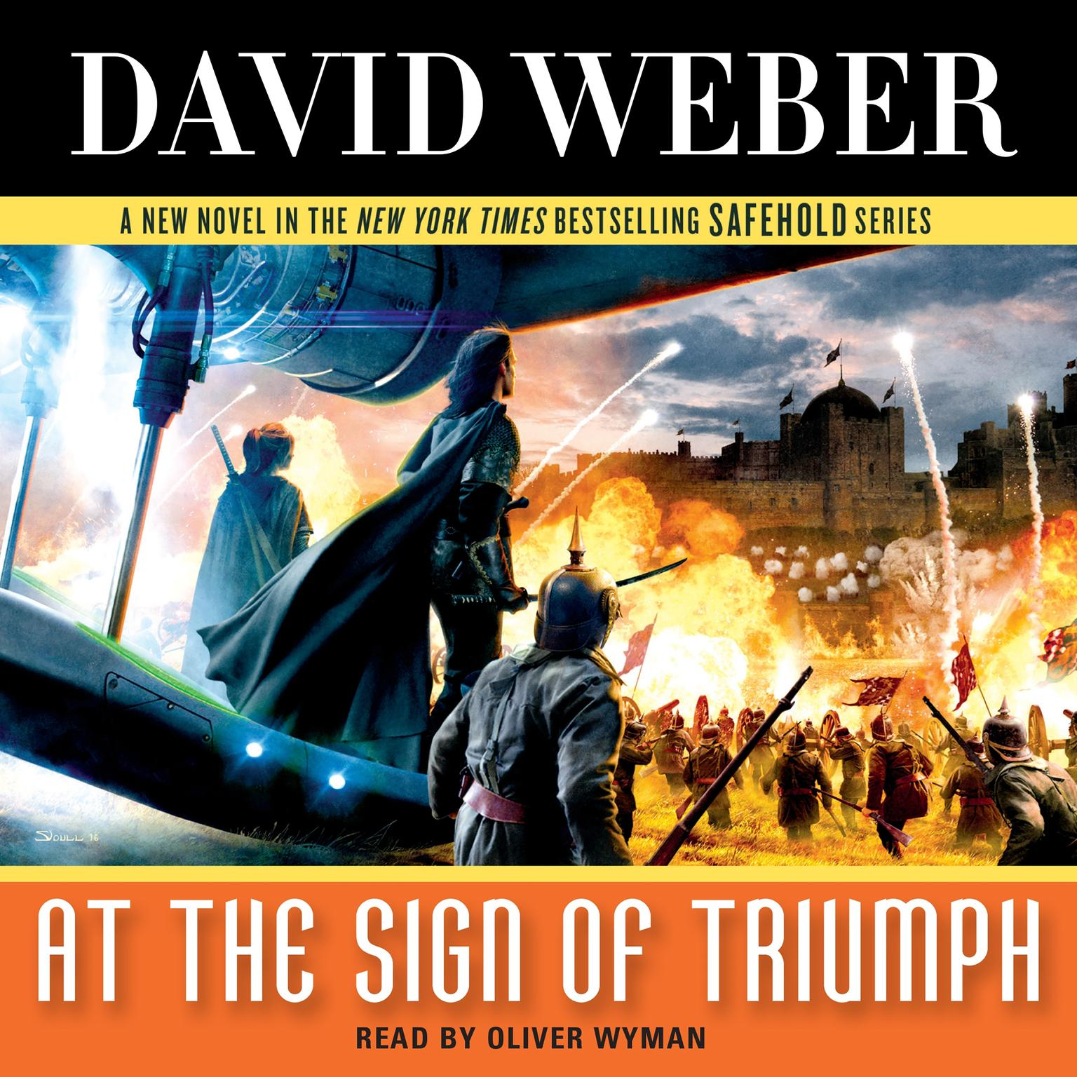 Printable At the Sign of Triumph: A Novel in the Safehold Series Audiobook Cover Art