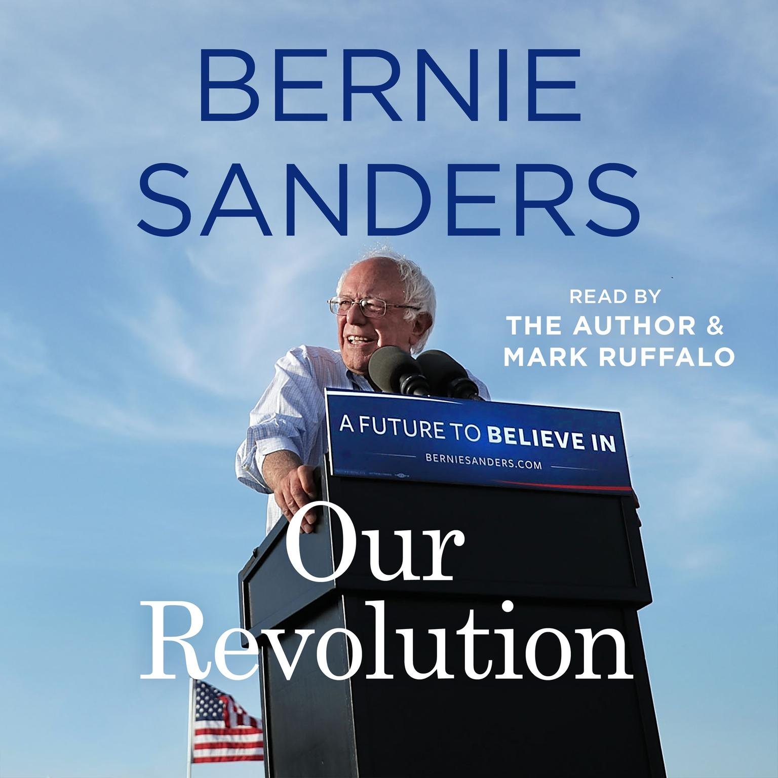 Printable Our Revolution: A Future to Believe In Audiobook Cover Art