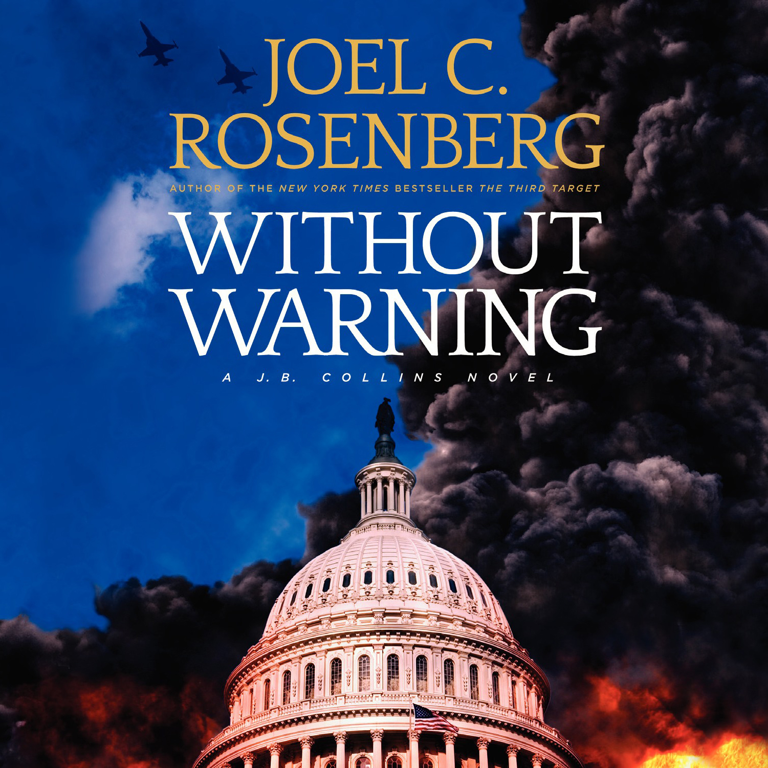 Printable Without Warning Audiobook Cover Art