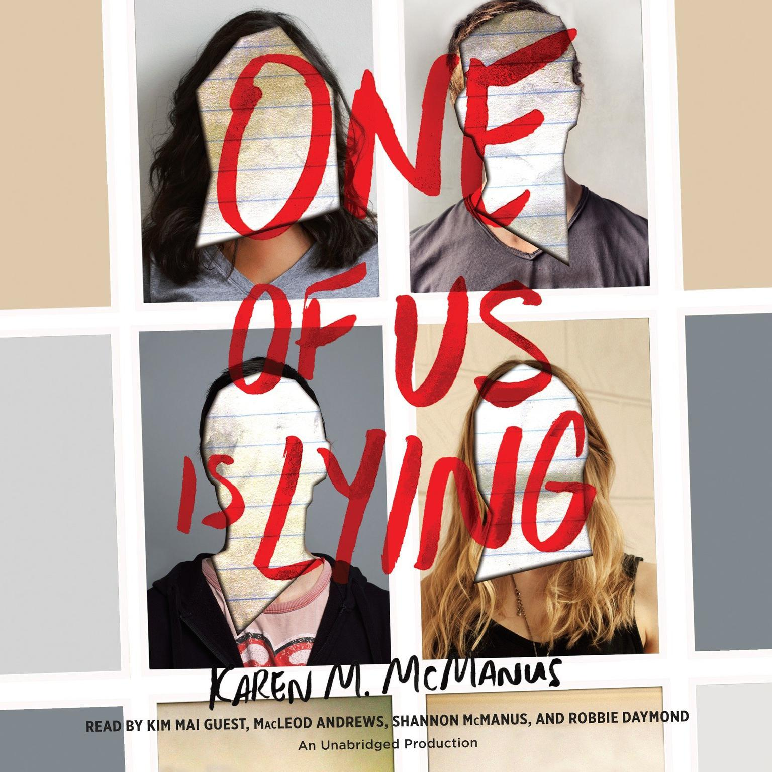 Printable One of Us Is Lying Audiobook Cover Art