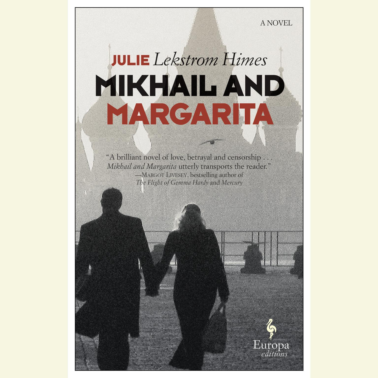 Printable Mikhail and Margarita: A Novel Audiobook Cover Art