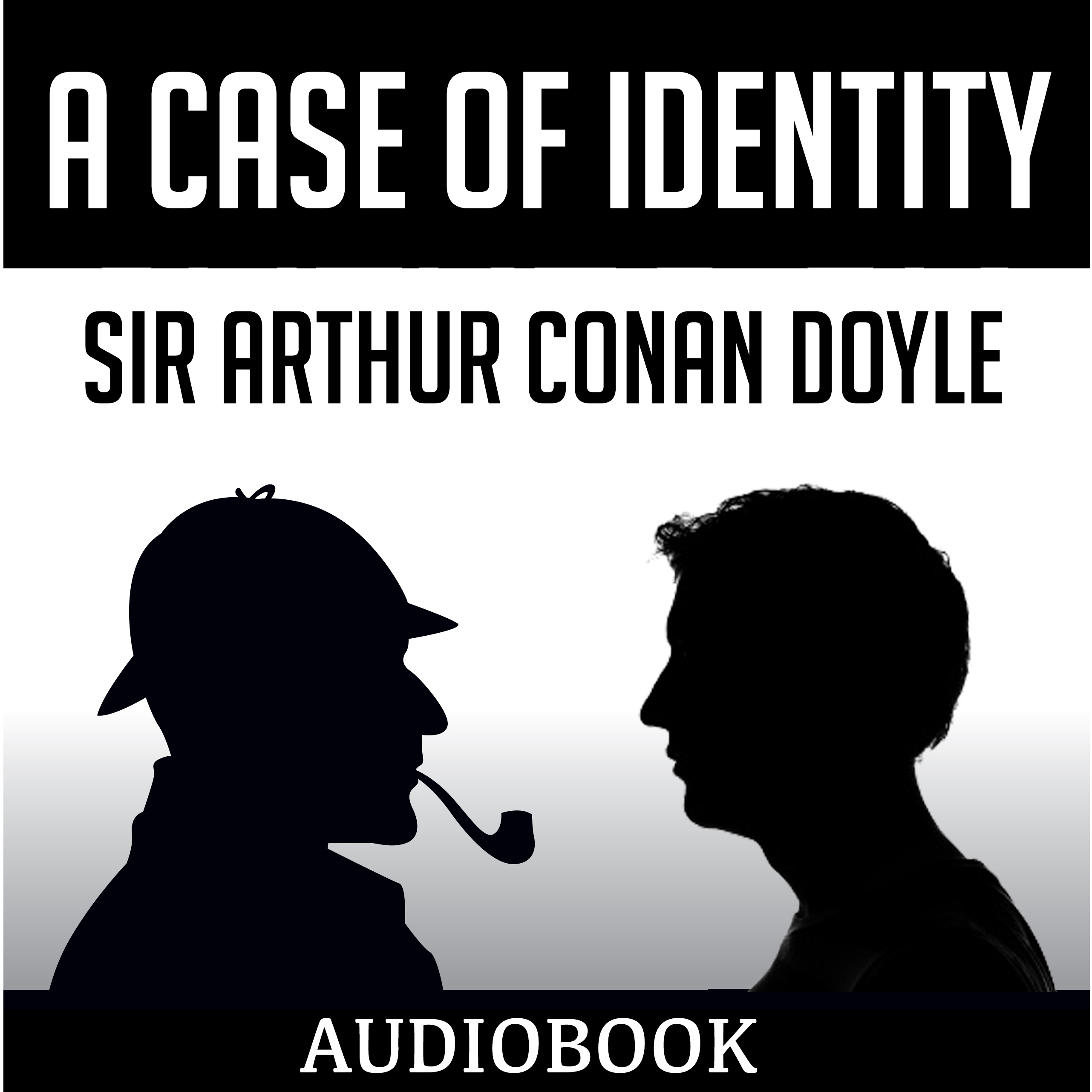 Printable A Case of Identity Audiobook Cover Art