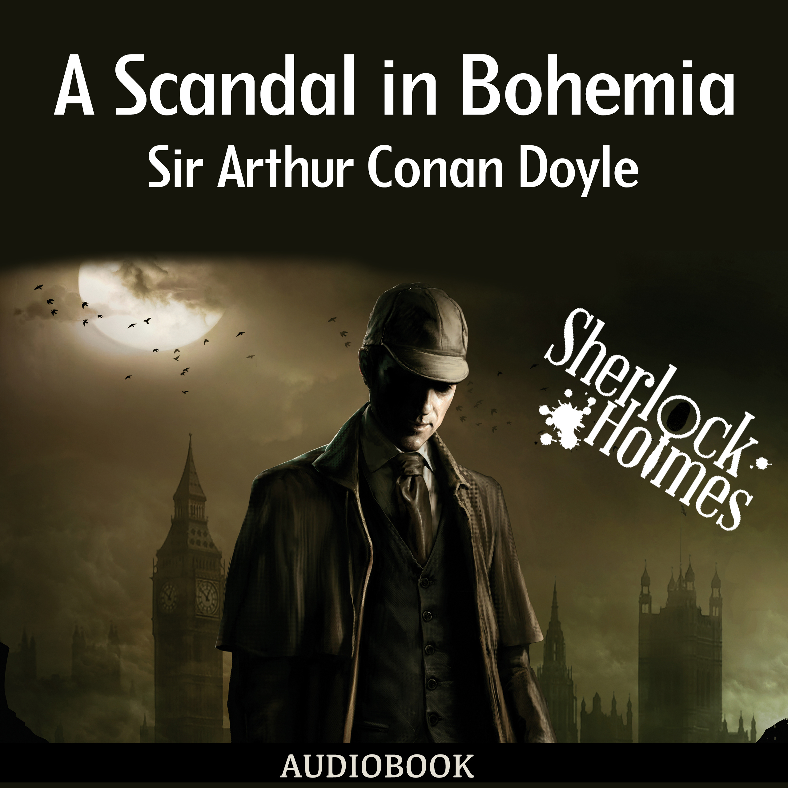Printable A Scandal in Bohemia Audiobook Cover Art
