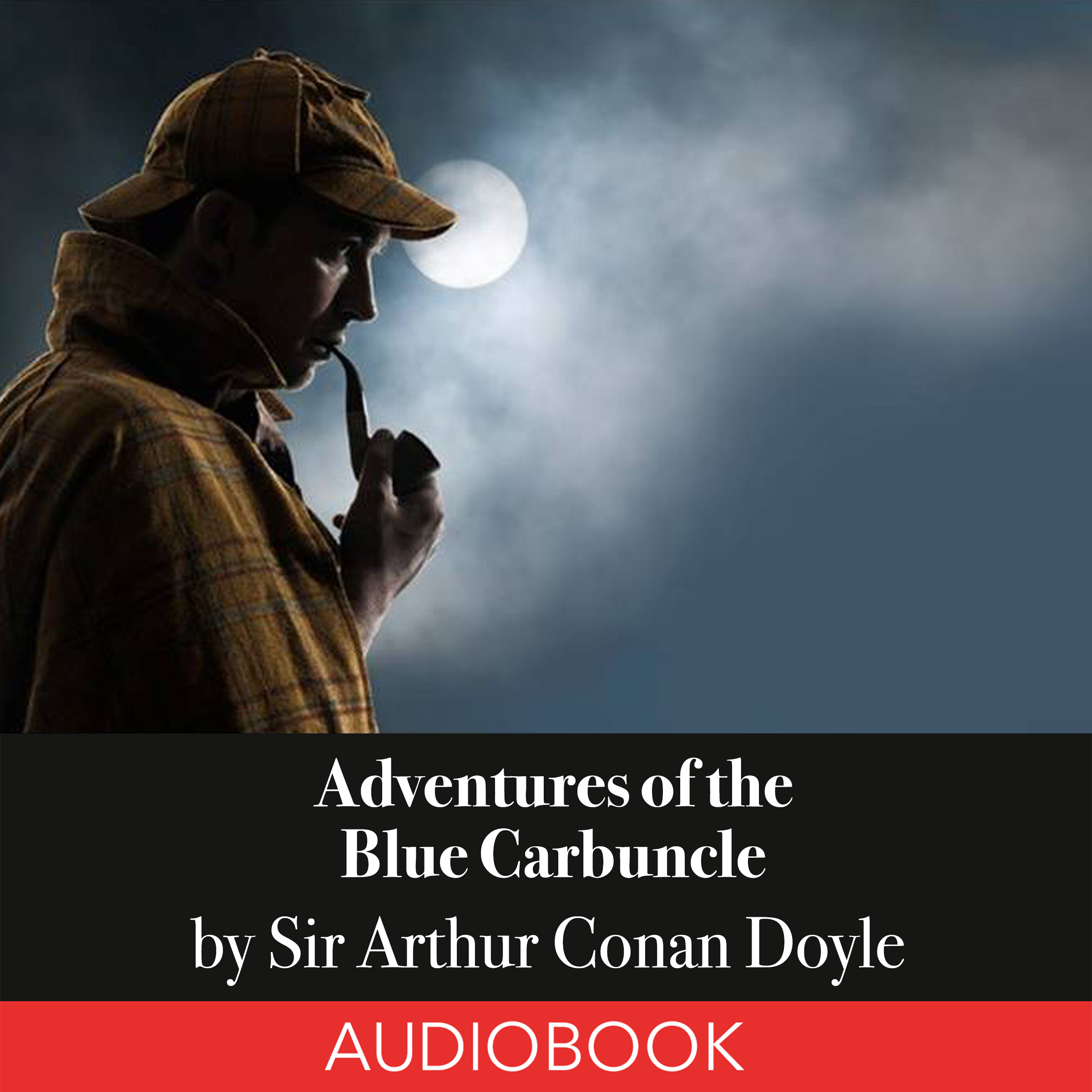 Printable Sherlock Holmes: Adventures of the Blue Carbuncle Audiobook Cover Art