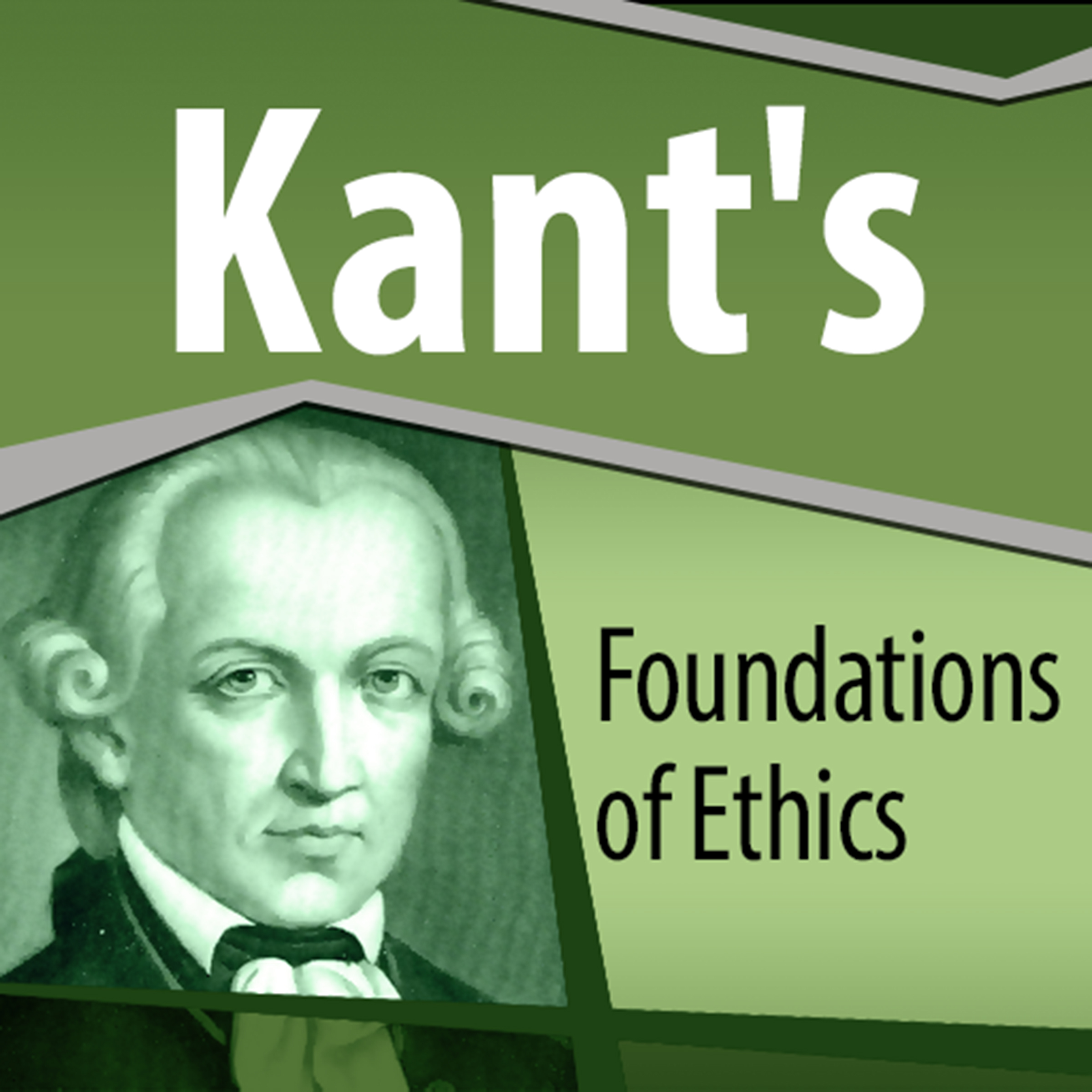 Printable Kant's Foundations of Ethics Audiobook Cover Art