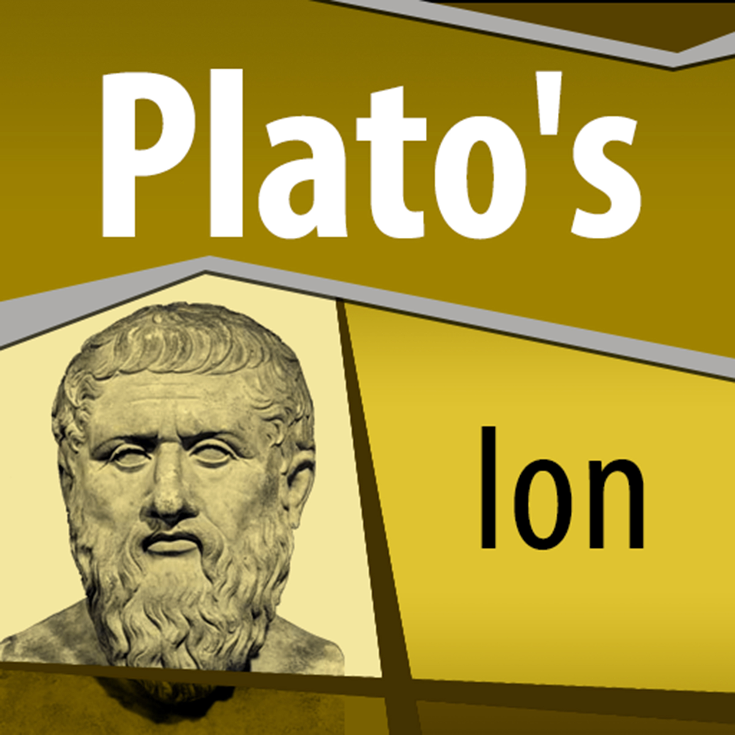 Printable Plato's Ion Audiobook Cover Art