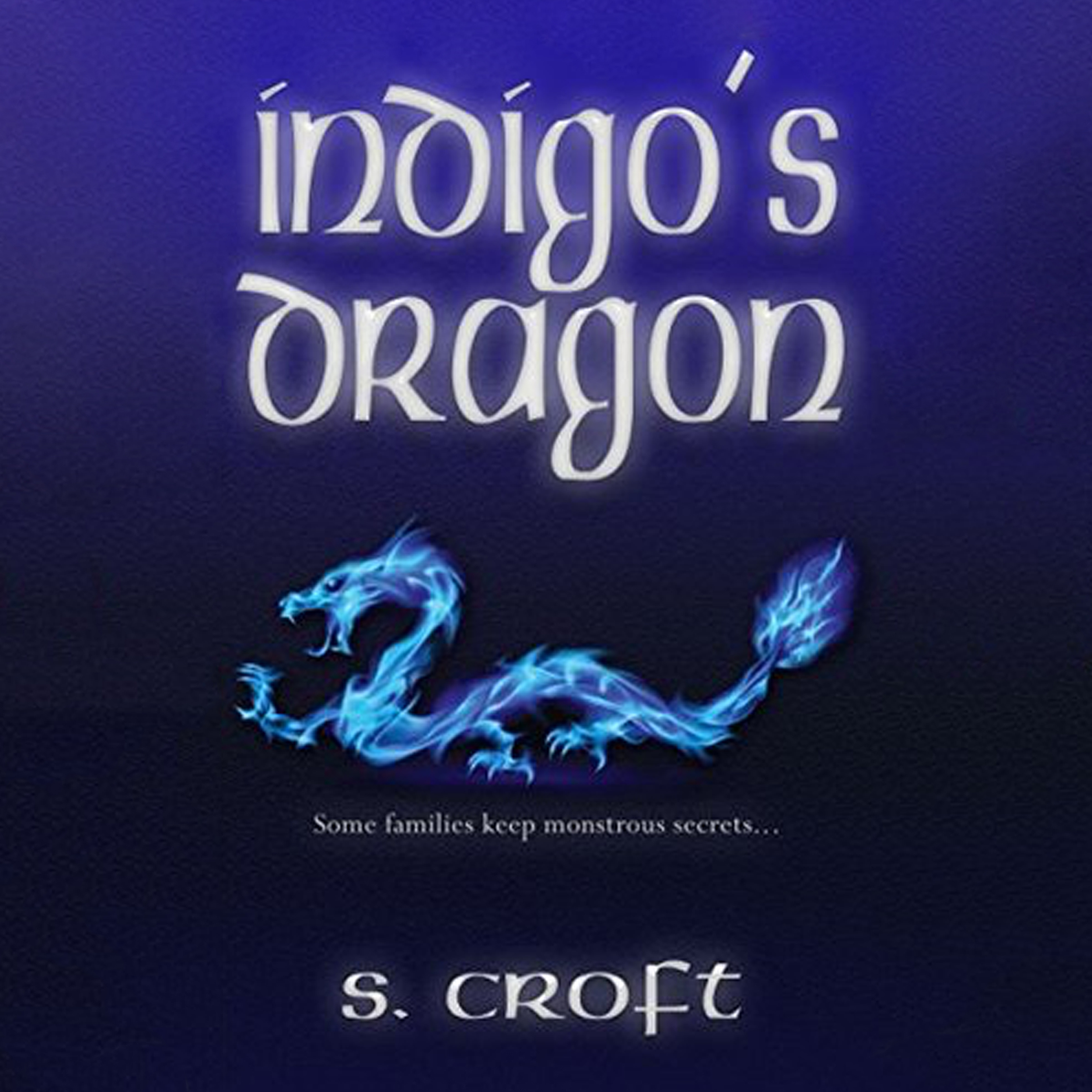 Printable Indigo's Dragon Audiobook Cover Art
