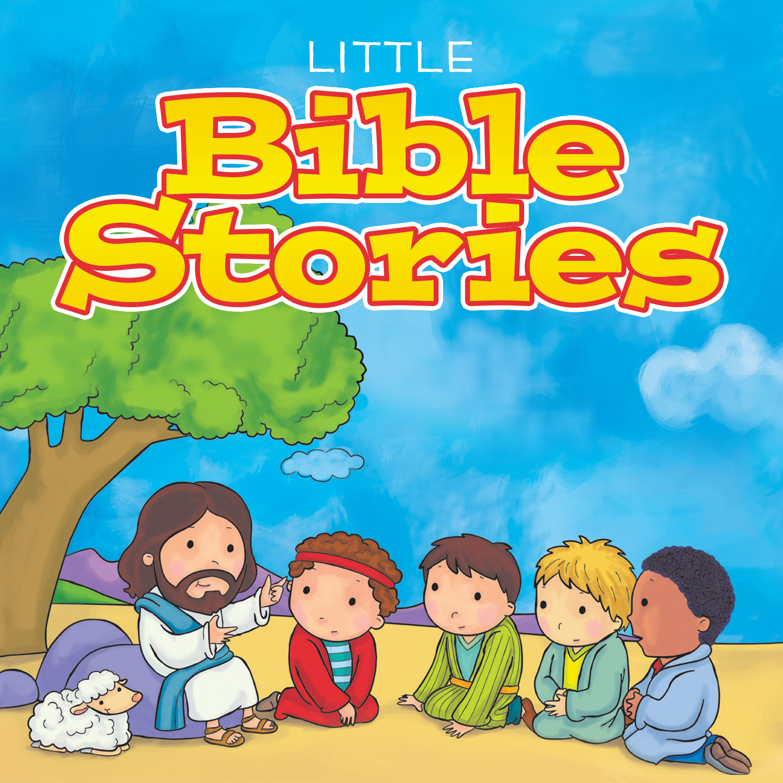 Printable Little Bible Stories Audiobook Cover Art
