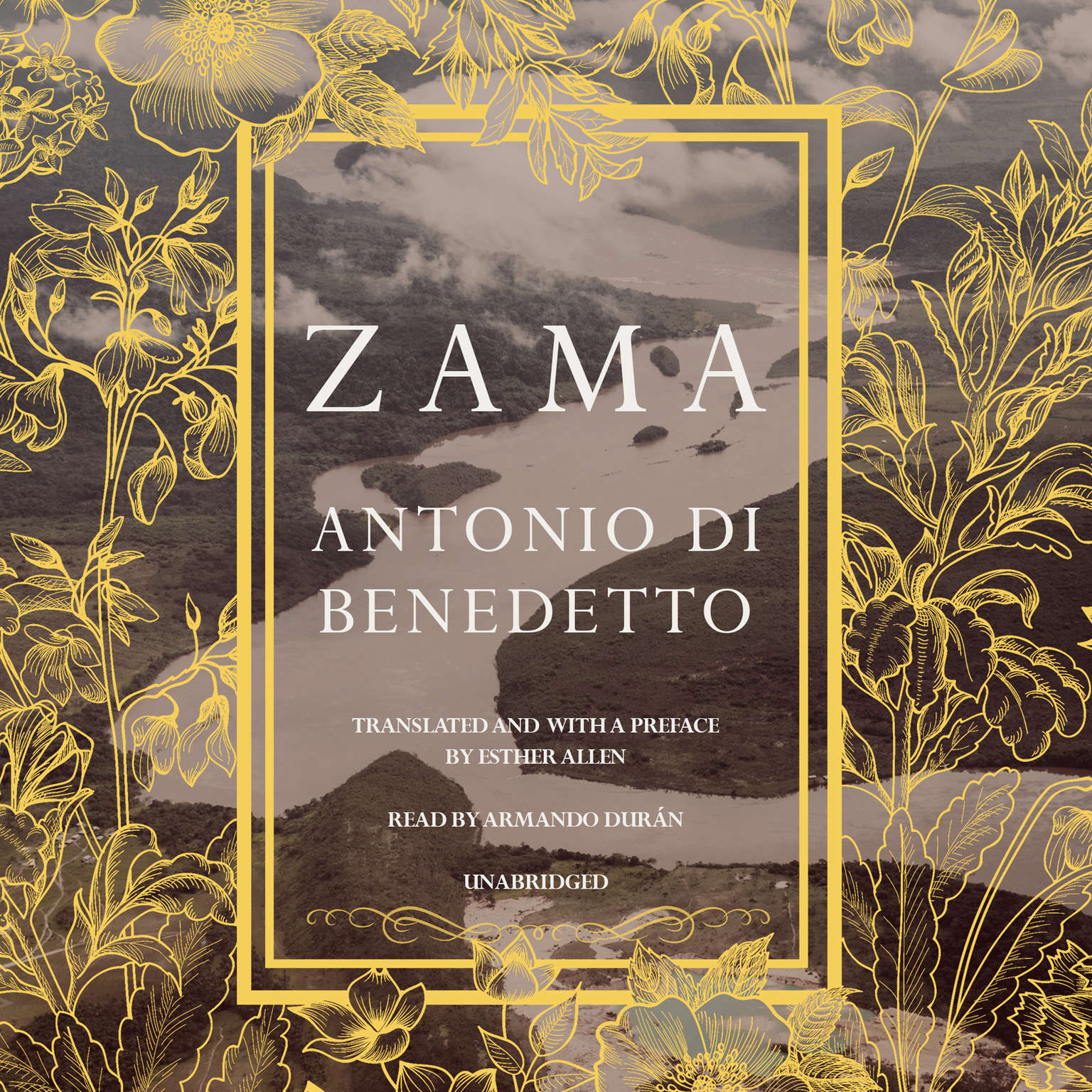 Printable Zama Audiobook Cover Art