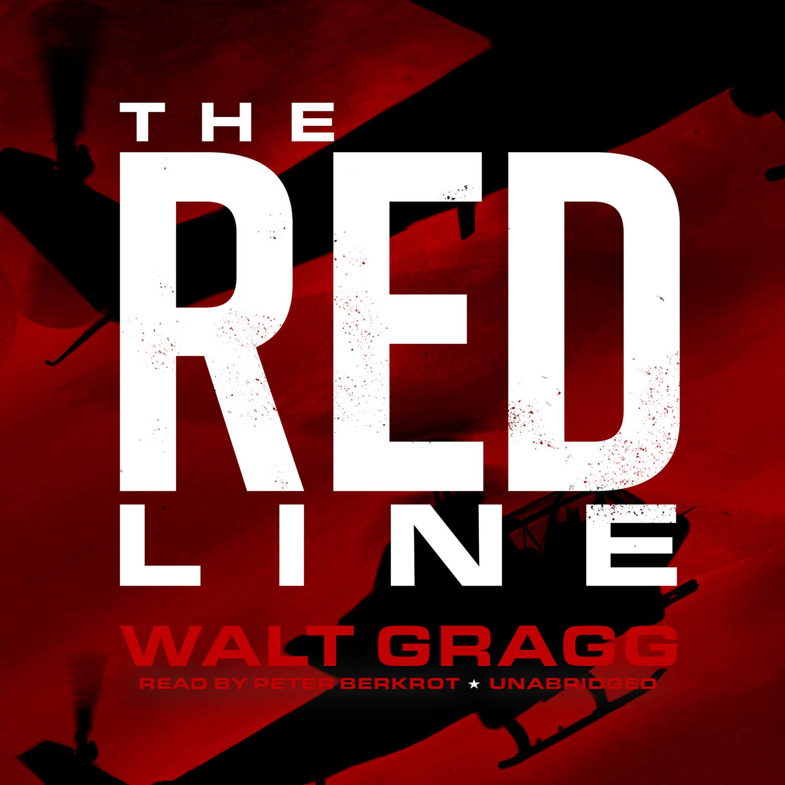 Printable The Red Line Audiobook Cover Art