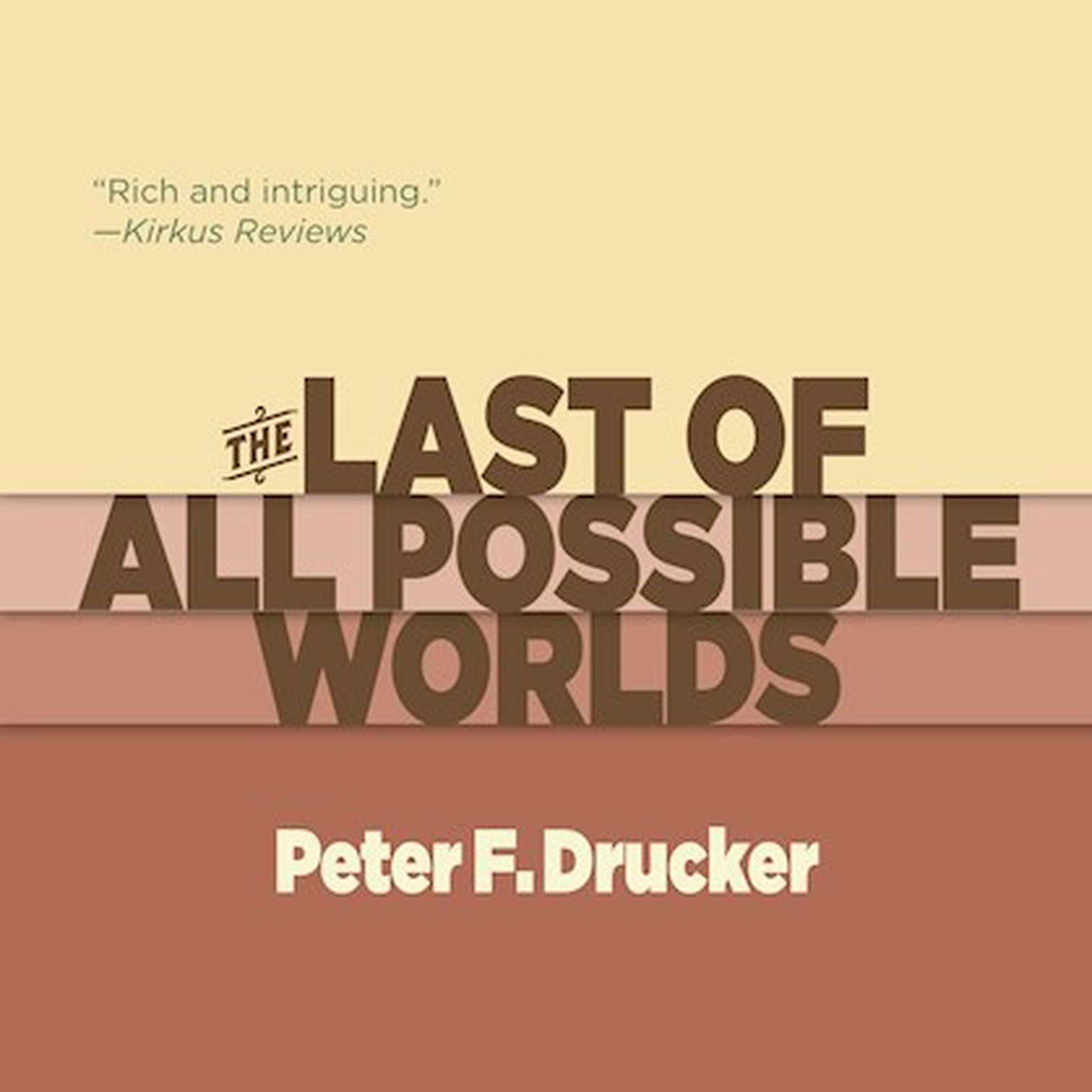 Printable The Last of All Possible Worlds Audiobook Cover Art