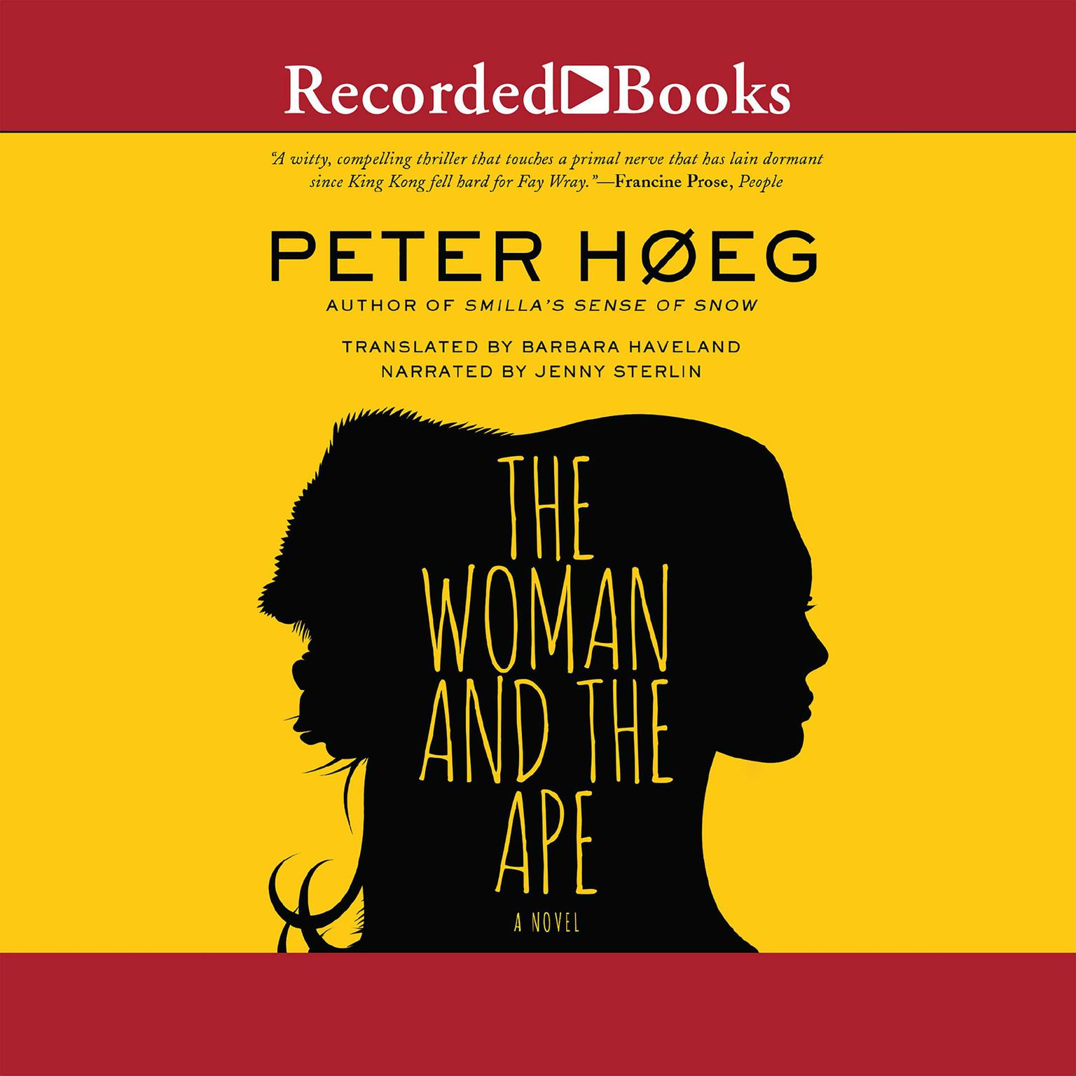 Printable The Woman and the Ape: A Novel Audiobook Cover Art
