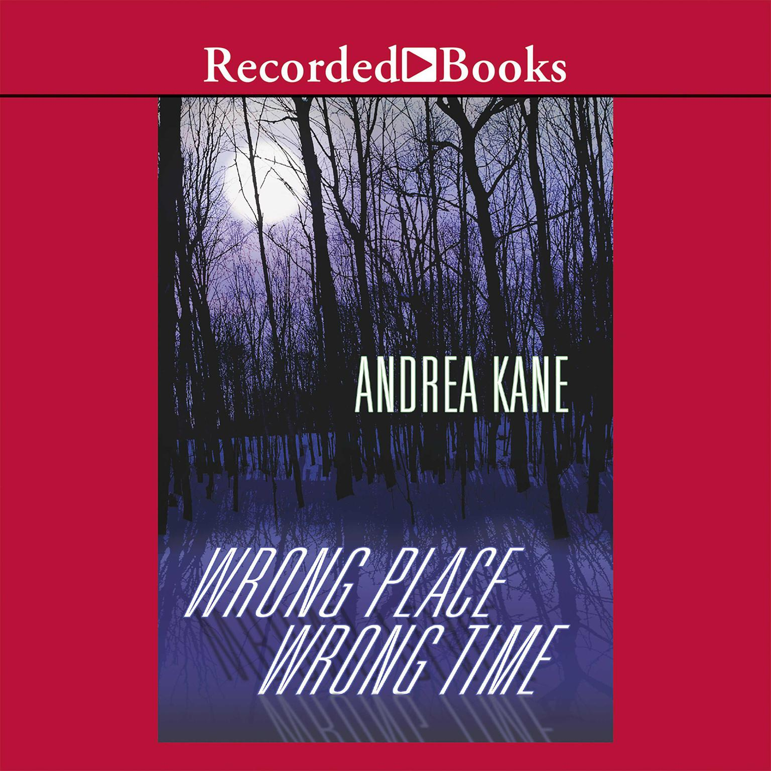 Printable Wrong Place, Wrong Time Audiobook Cover Art