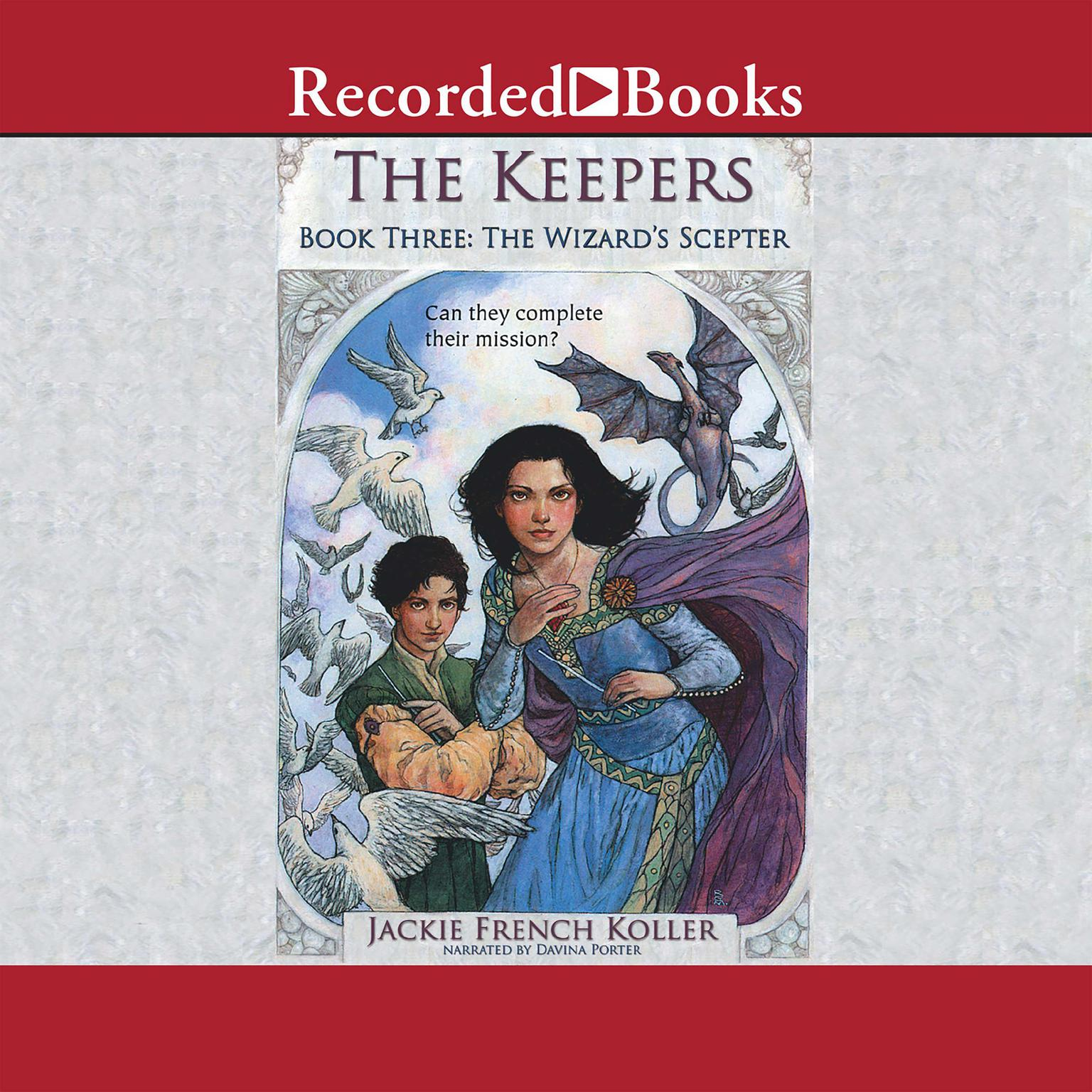 Printable The Wizard's Scepter Audiobook Cover Art
