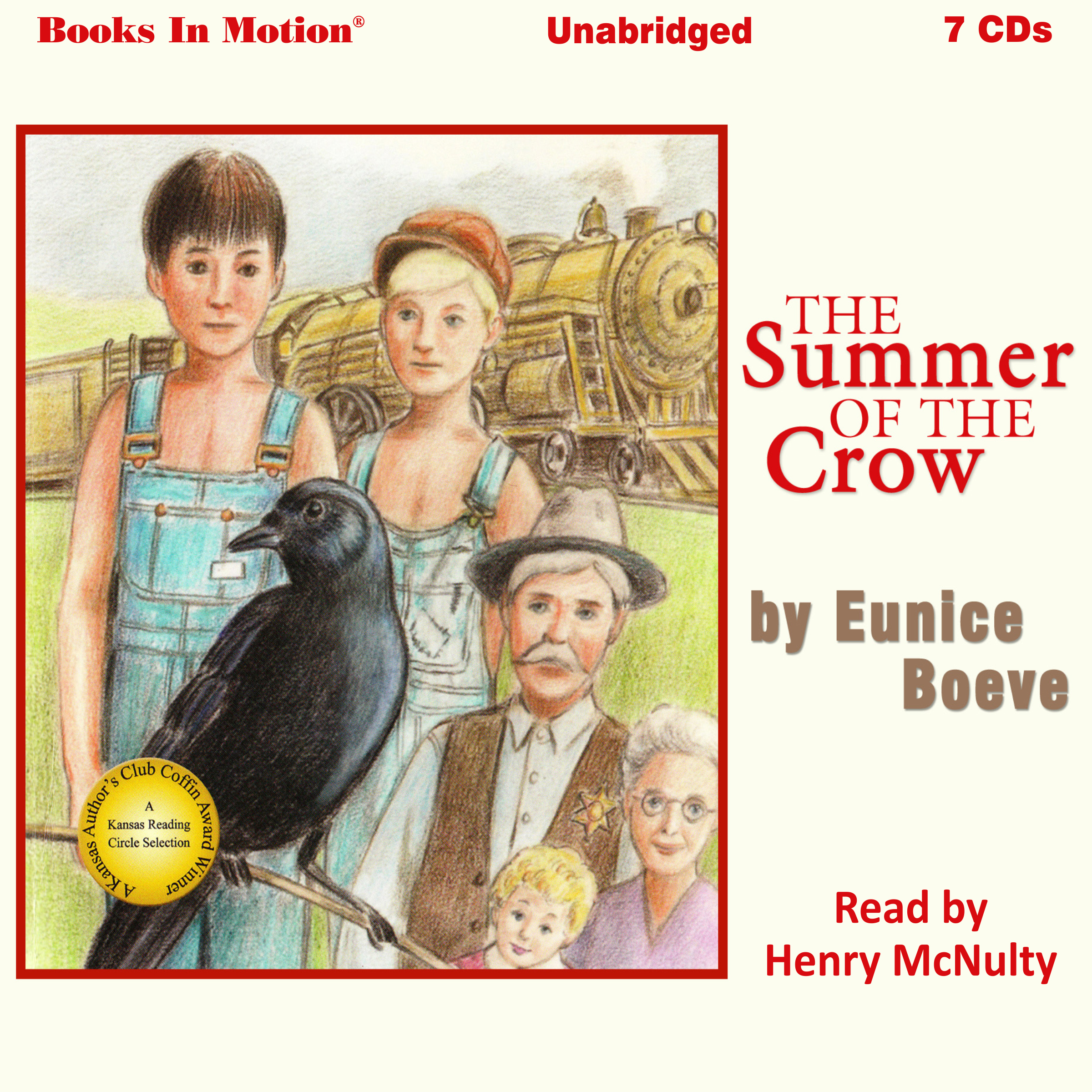 Printable The Summer of the Crow Audiobook Cover Art
