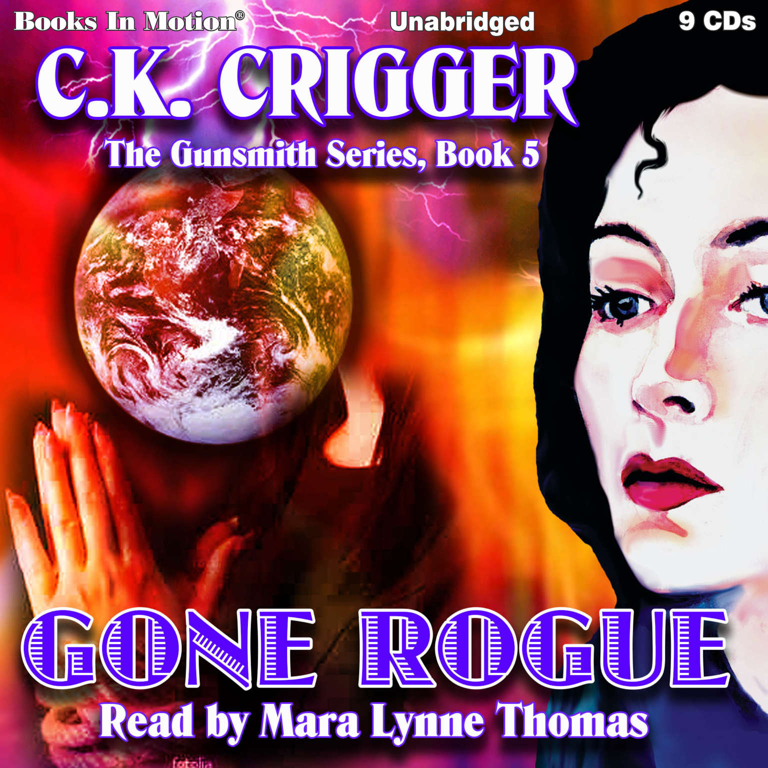 Gone Rogue Audiobook, by C. K. Crigger
