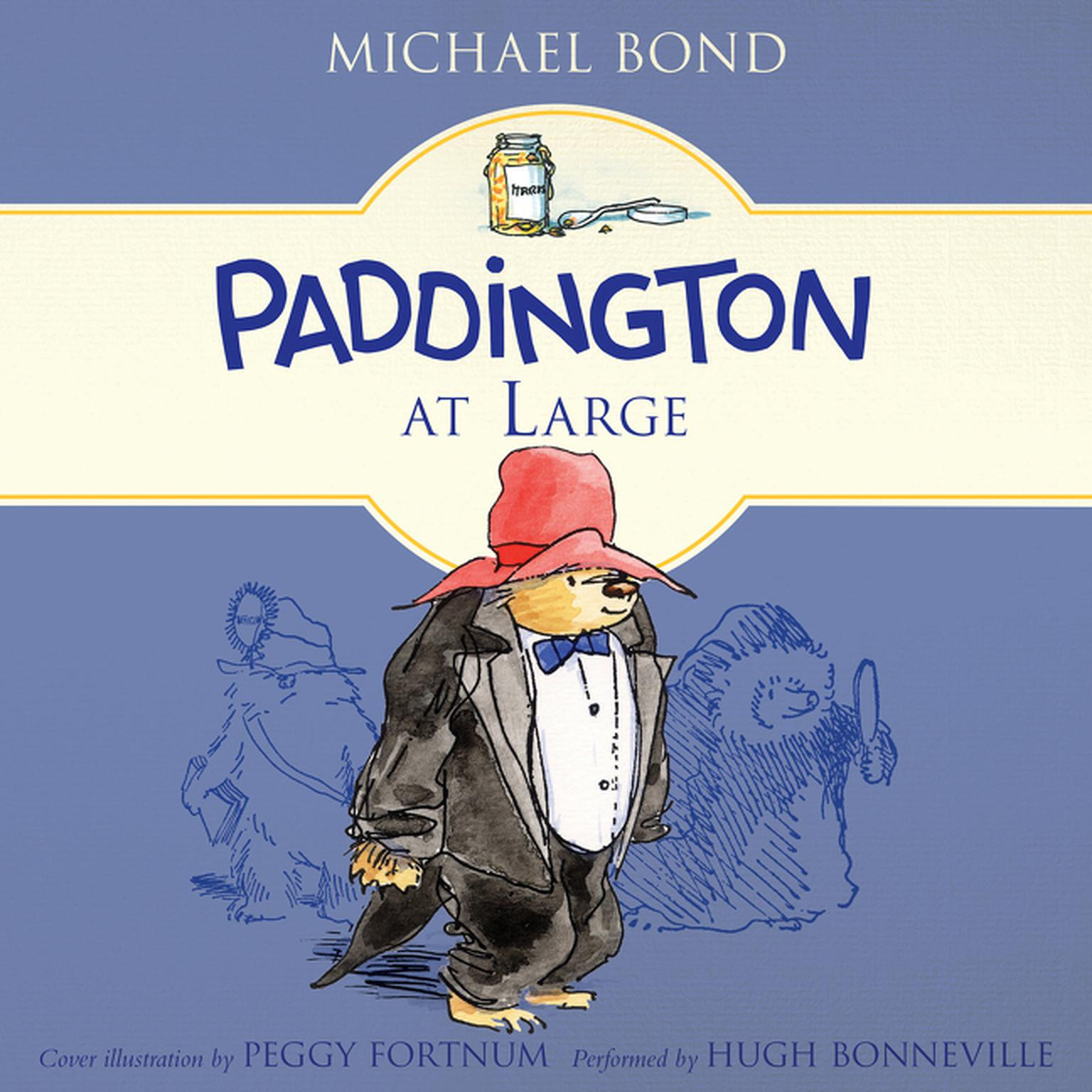 Printable Paddington at Large Audiobook Cover Art