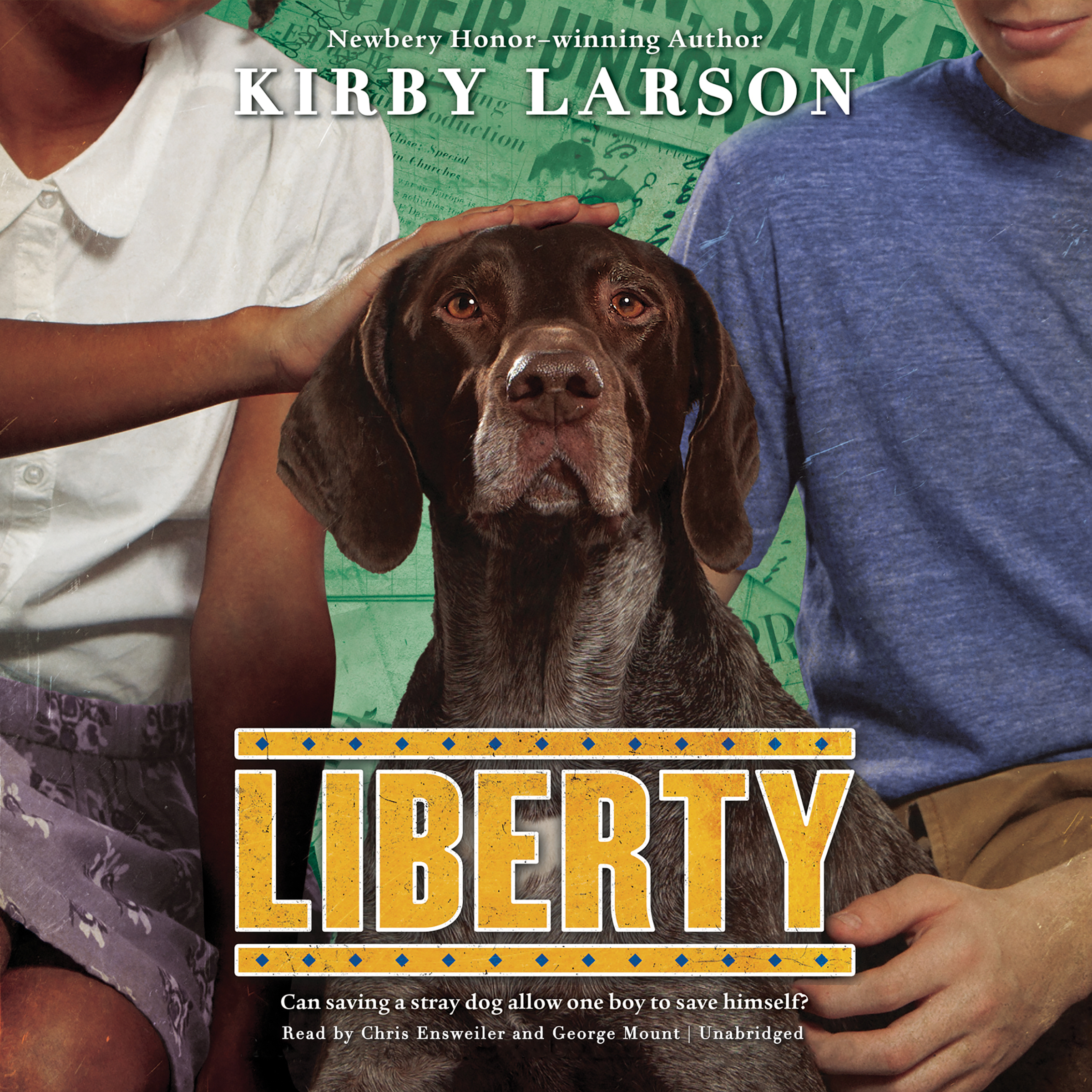 Printable Liberty Audiobook Cover Art