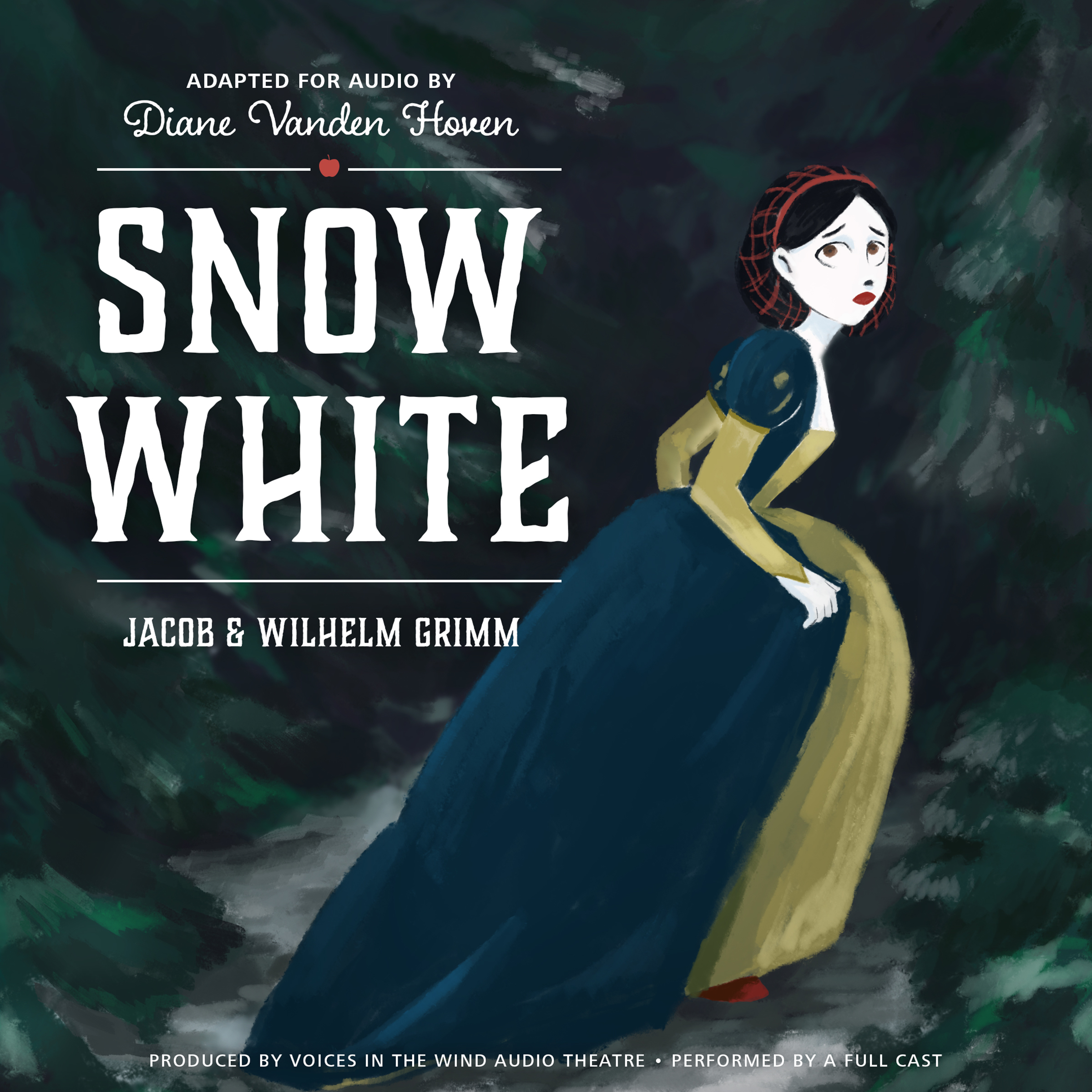 Printable Snow White Audiobook Cover Art