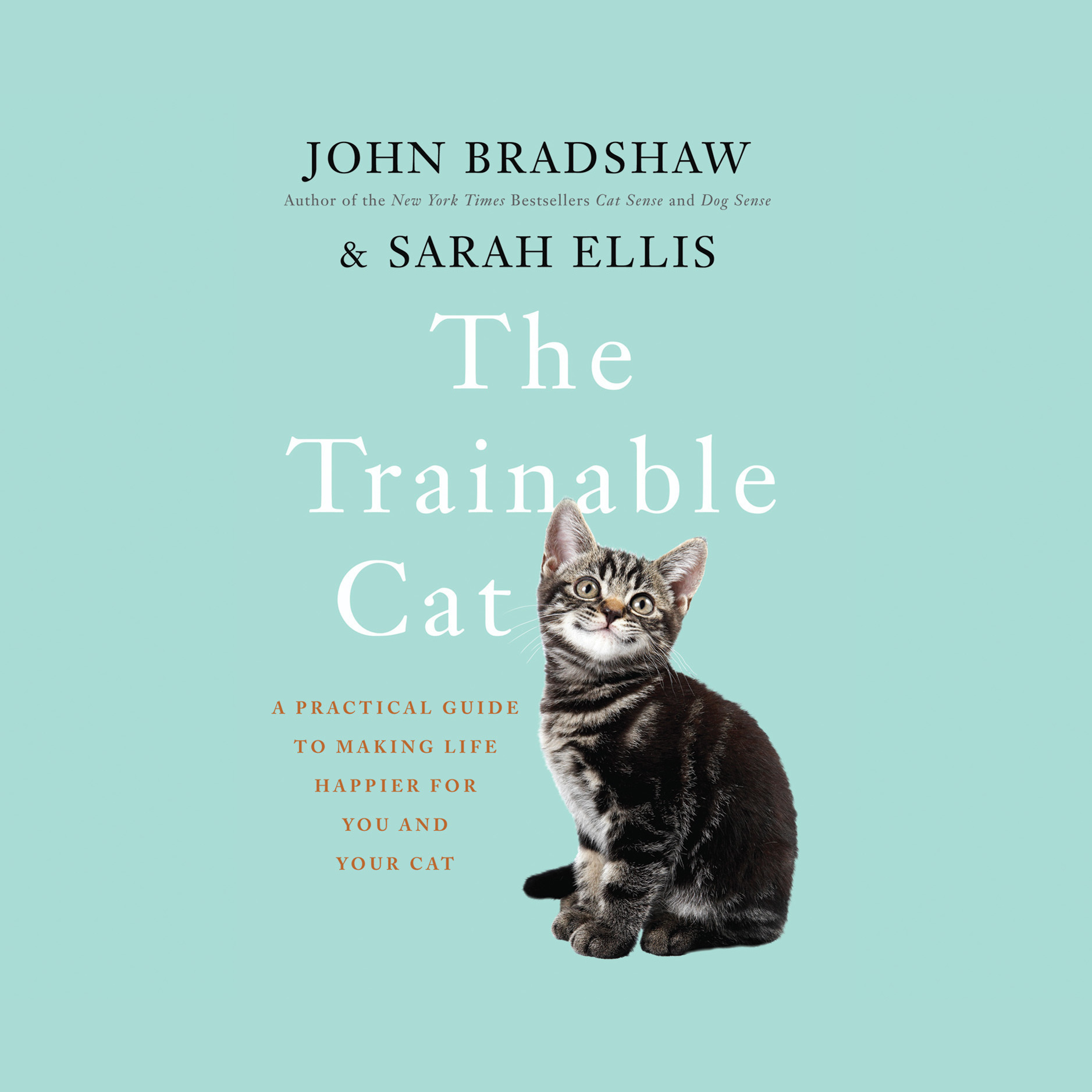 Printable The Trainable Cat Audiobook Cover Art