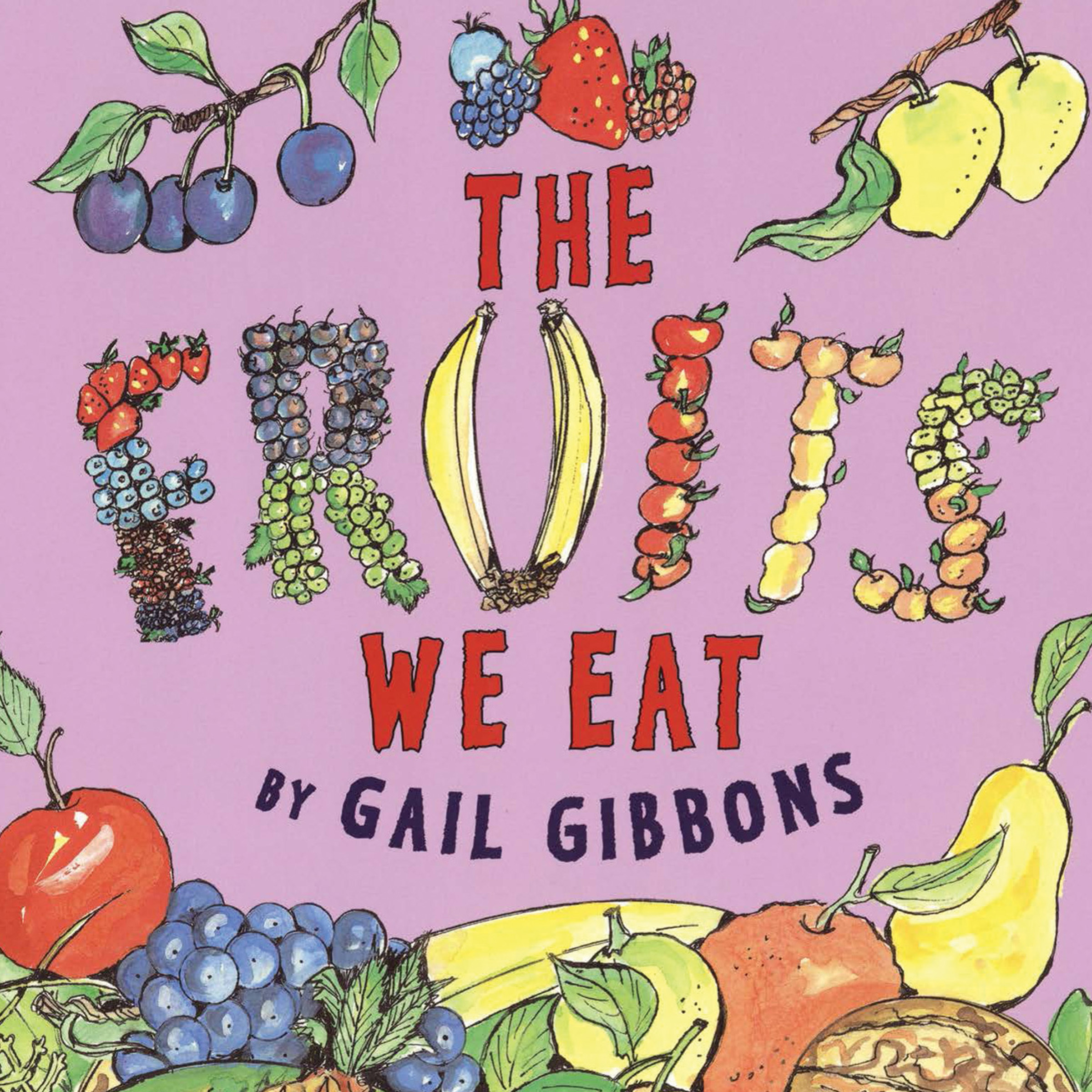 Printable The Fruits We Eat Audiobook Cover Art