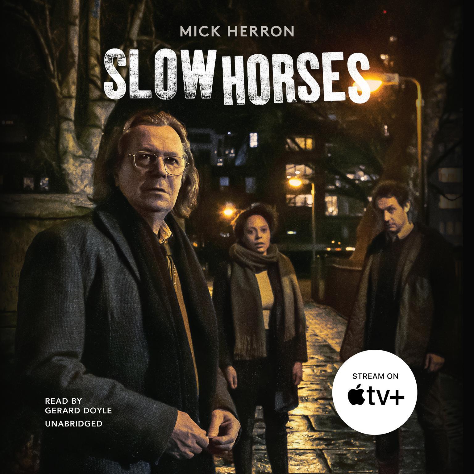 Printable Slow Horses Audiobook Cover Art