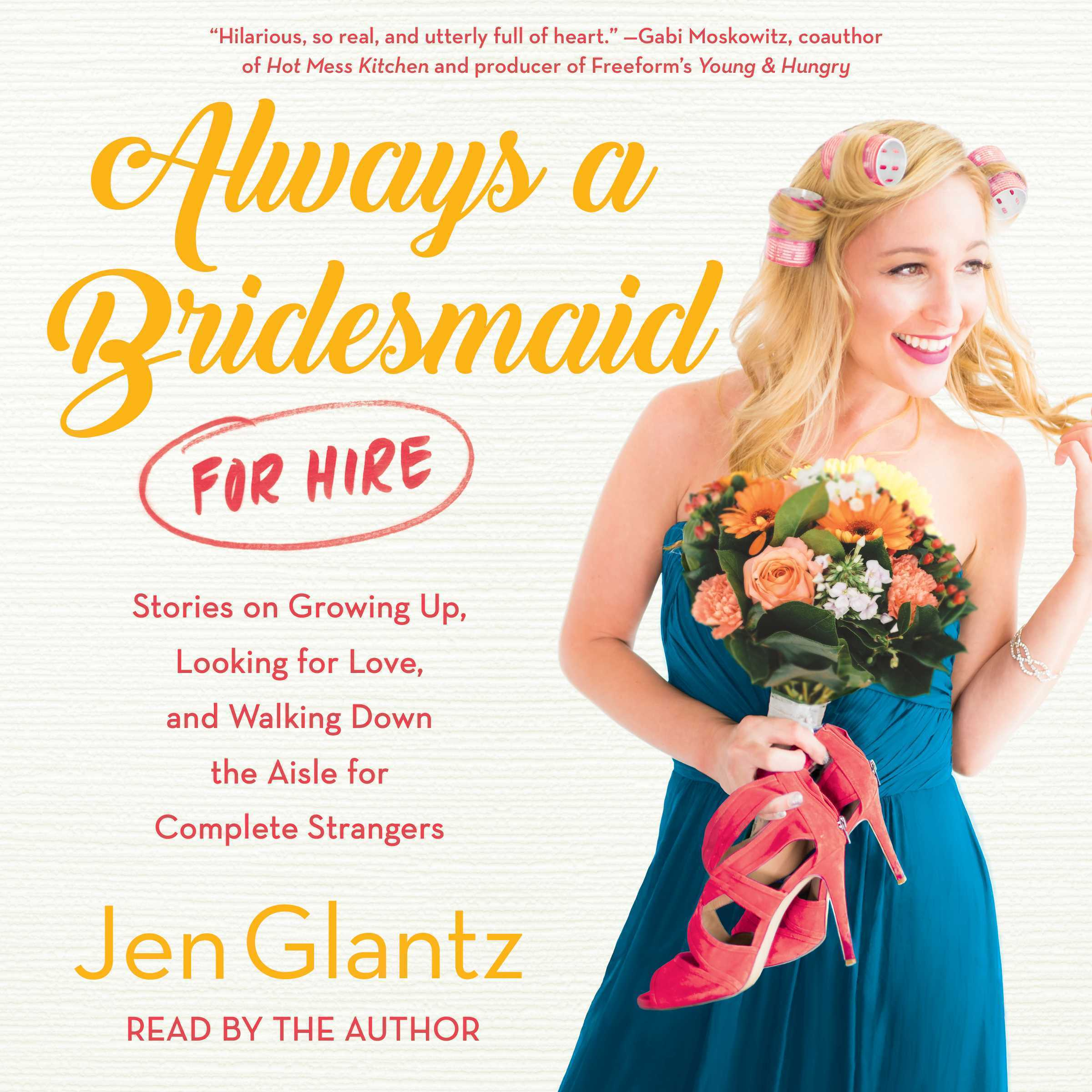Printable Always a Bridesmaid (for Hire) Audiobook Cover Art
