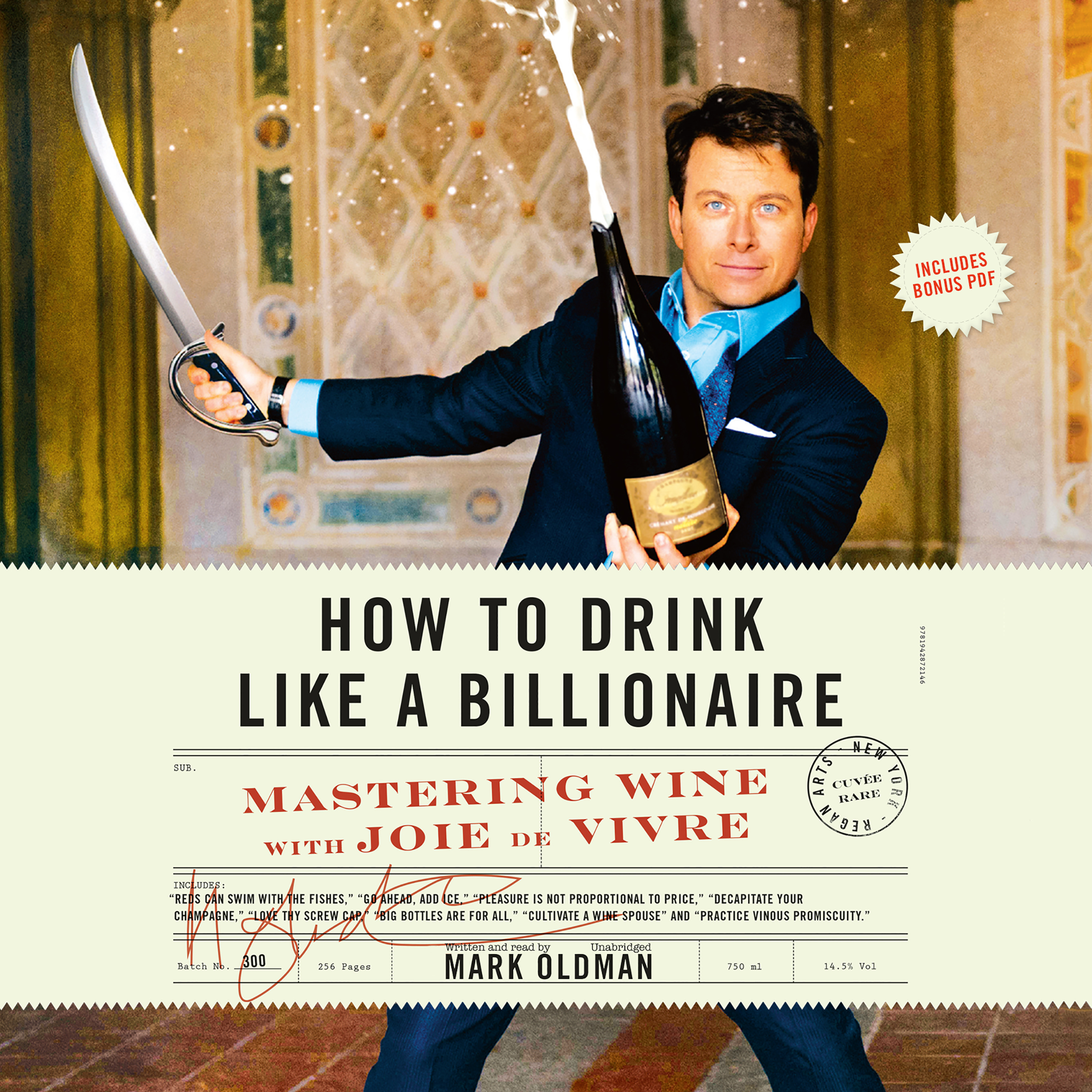 Printable How to Drink like a Billionaire: Mastering Wine with Joie de Vivre Audiobook Cover Art