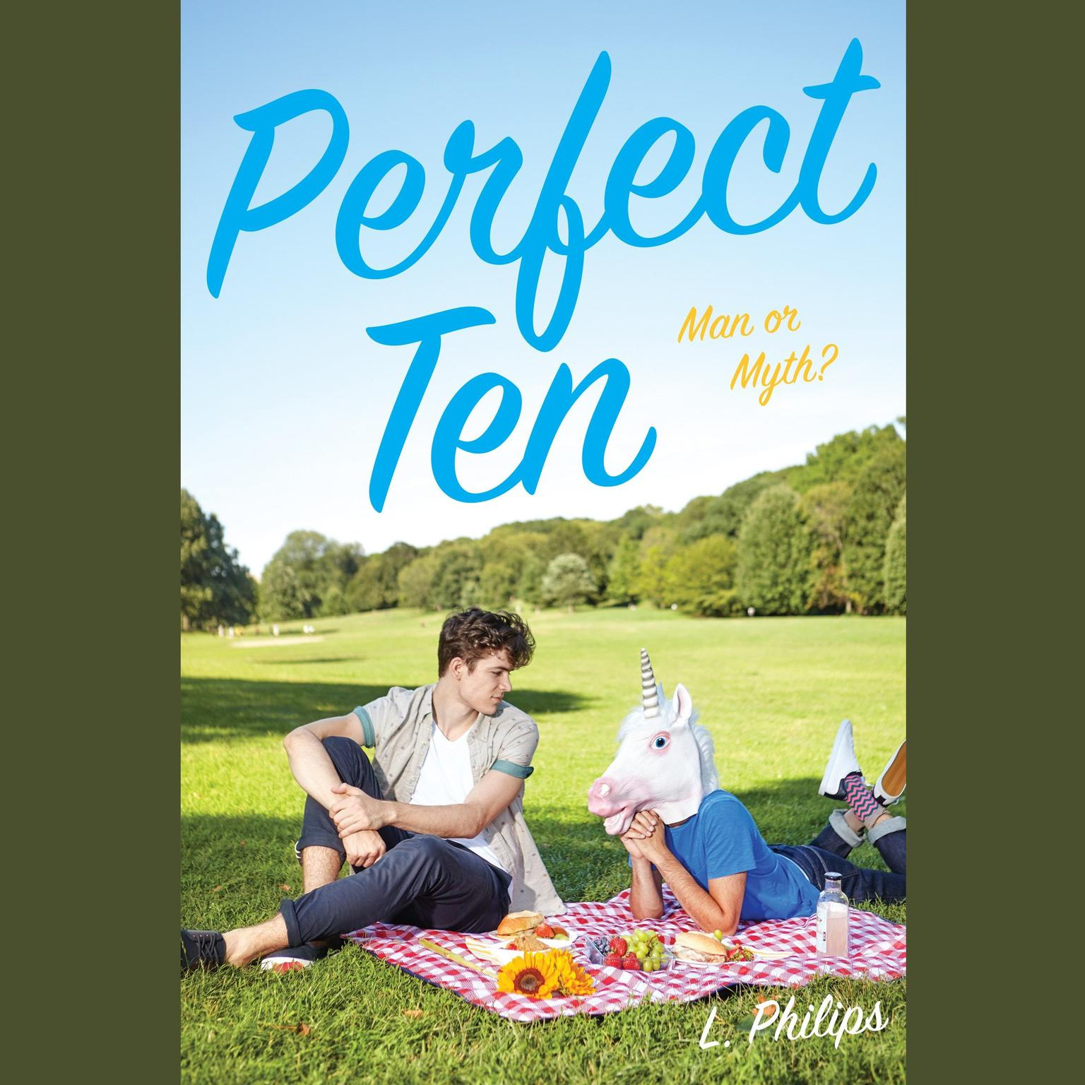 Printable Perfect Ten Audiobook Cover Art
