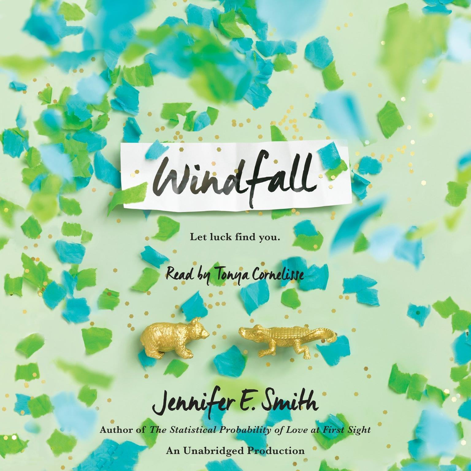 Printable Windfall Audiobook Cover Art