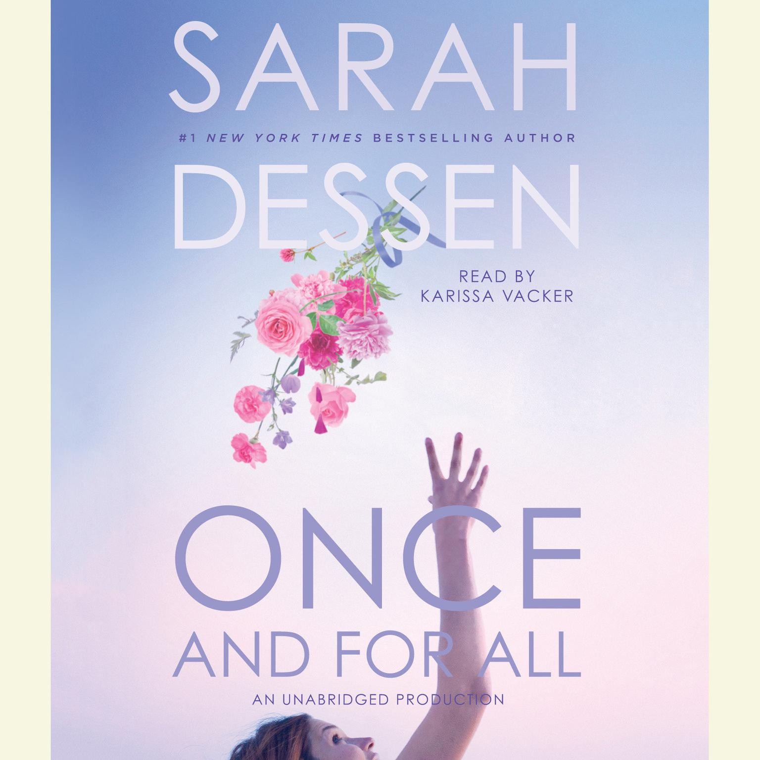 Printable Once and for All Audiobook Cover Art