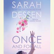 Once and For All, by Sarah Dessen