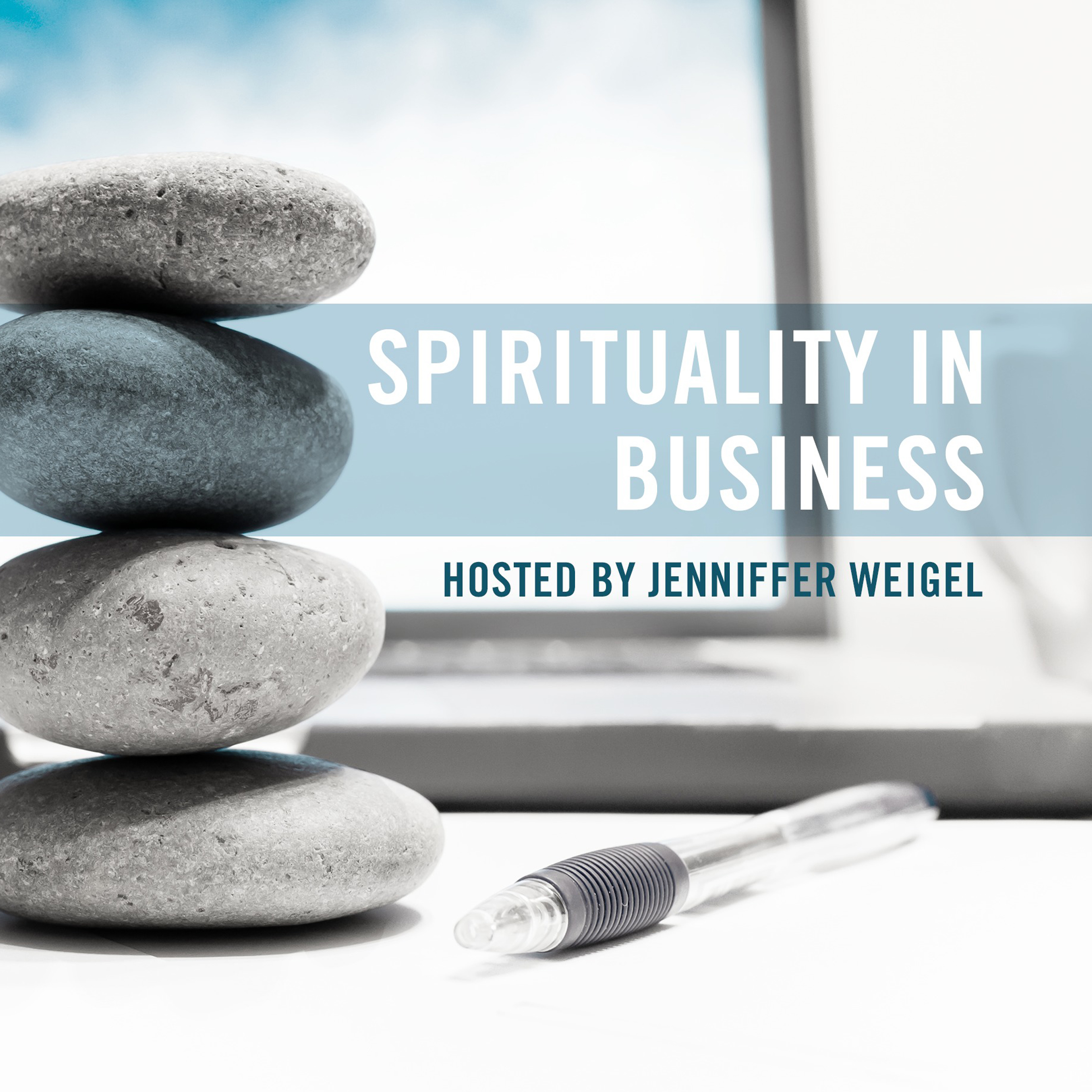 Printable Spirituality in Business Audiobook Cover Art