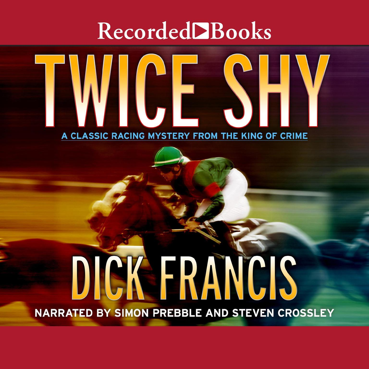 Printable Twice Shy Audiobook Cover Art