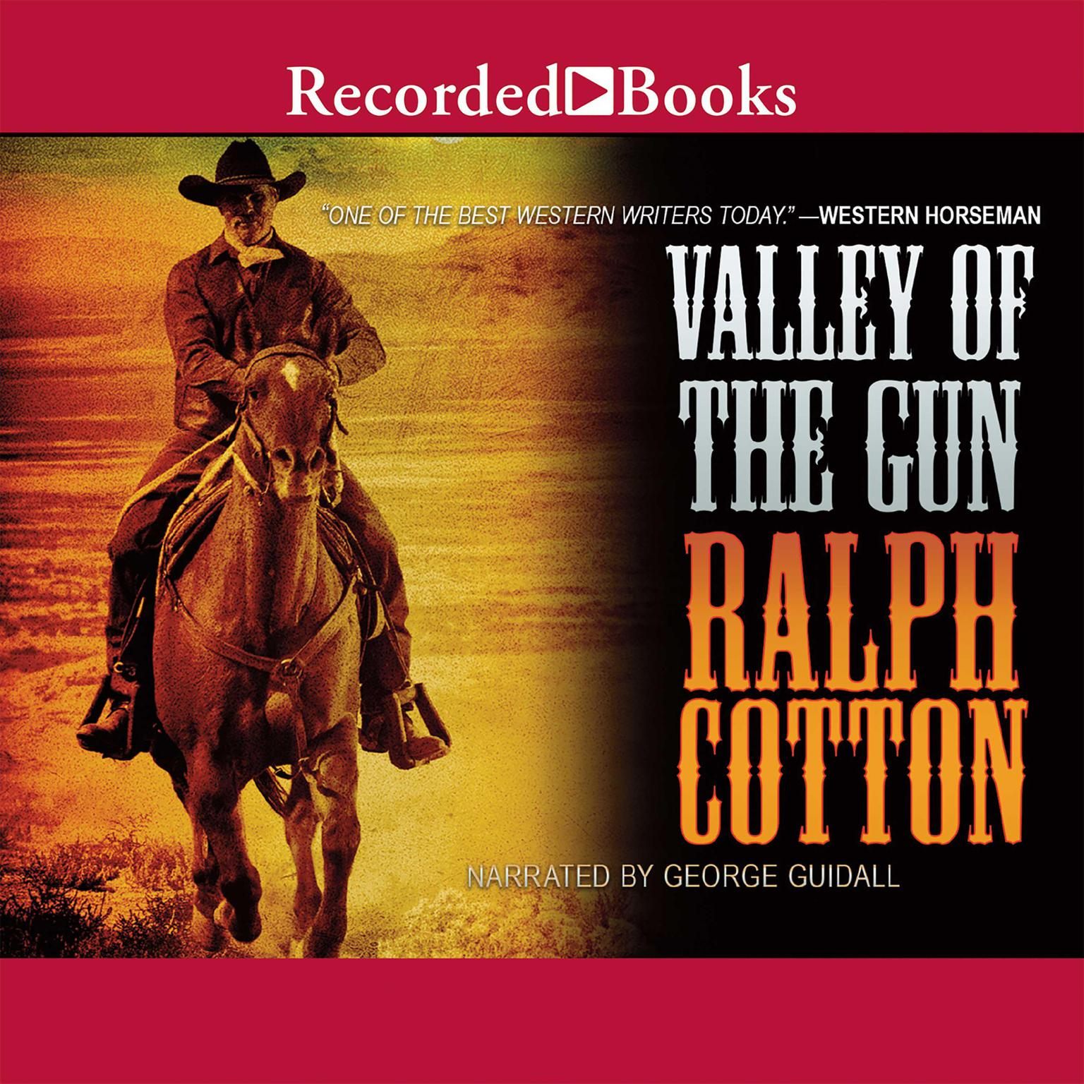 Printable Valley of the Gun Audiobook Cover Art