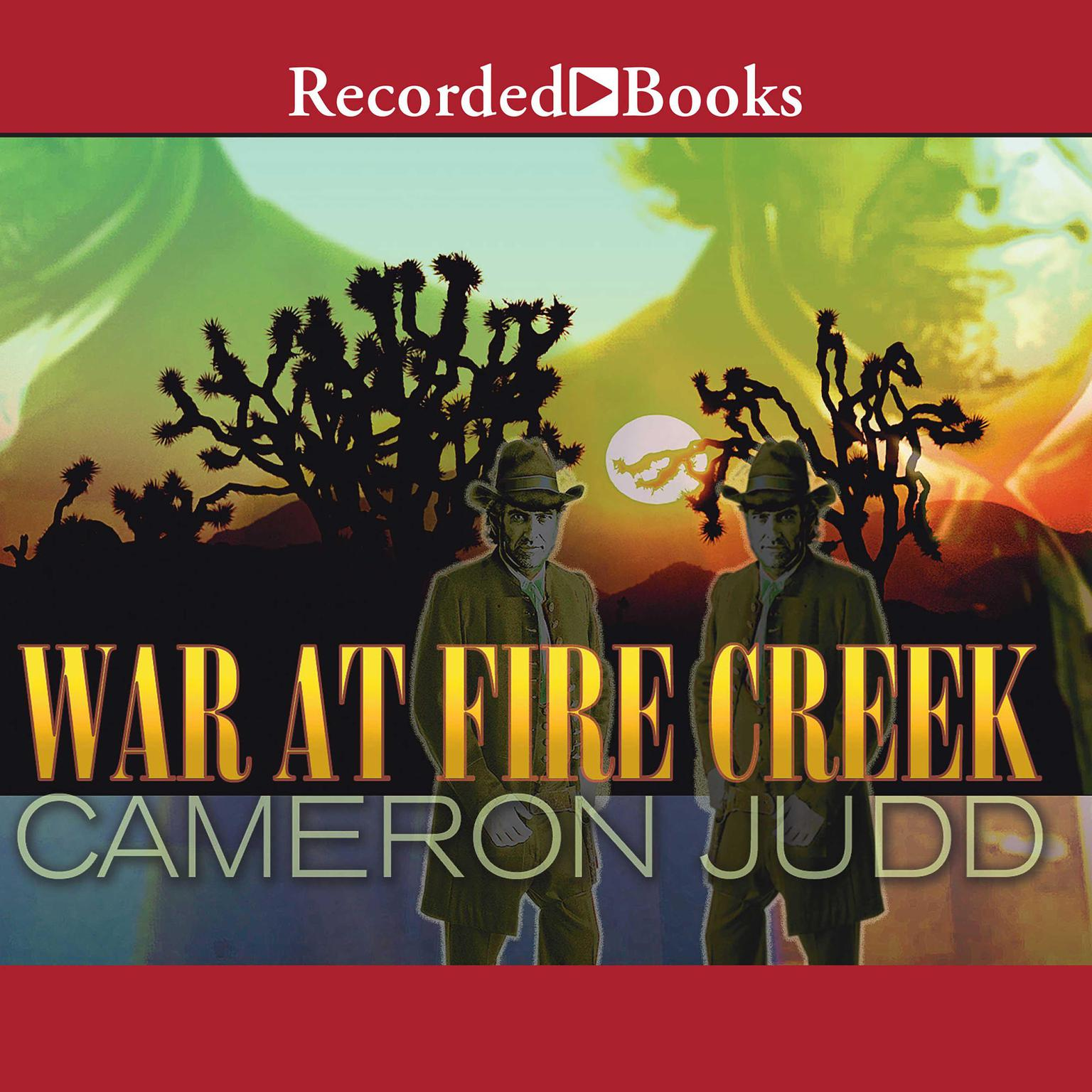 Printable War at Fire Creek Audiobook Cover Art