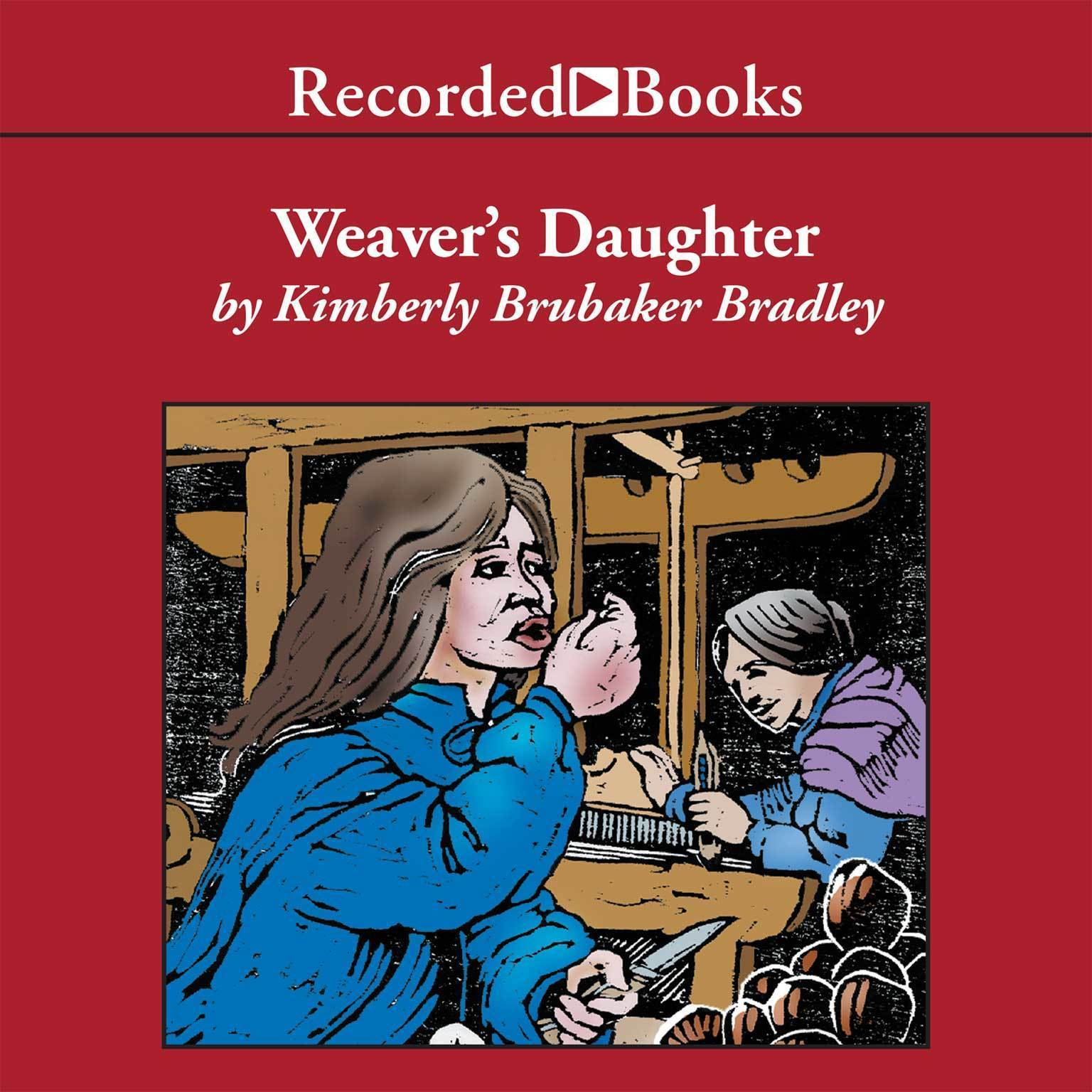 Printable The Weaver's Daughter Audiobook Cover Art