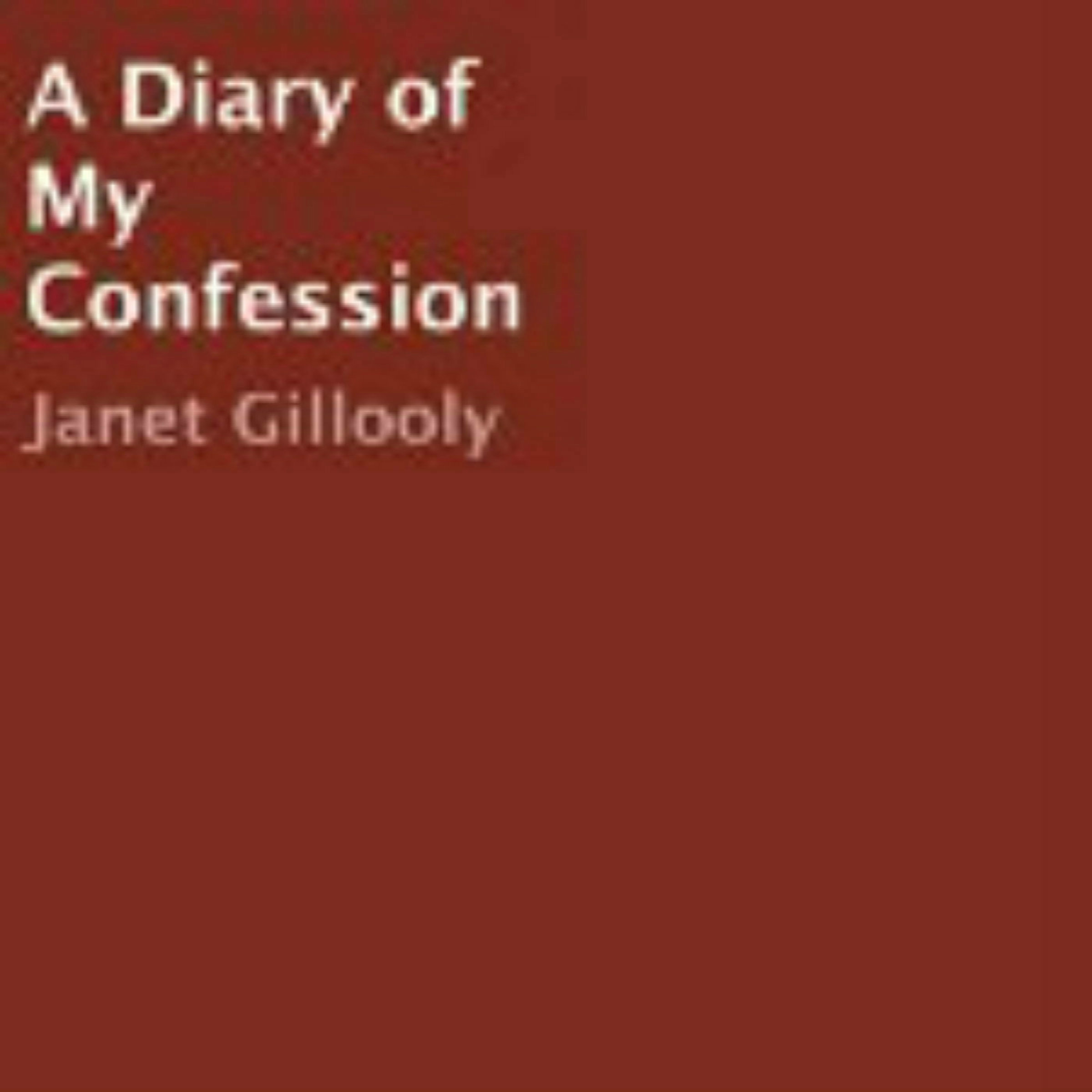 Printable A Diary of My Confession Audiobook Cover Art