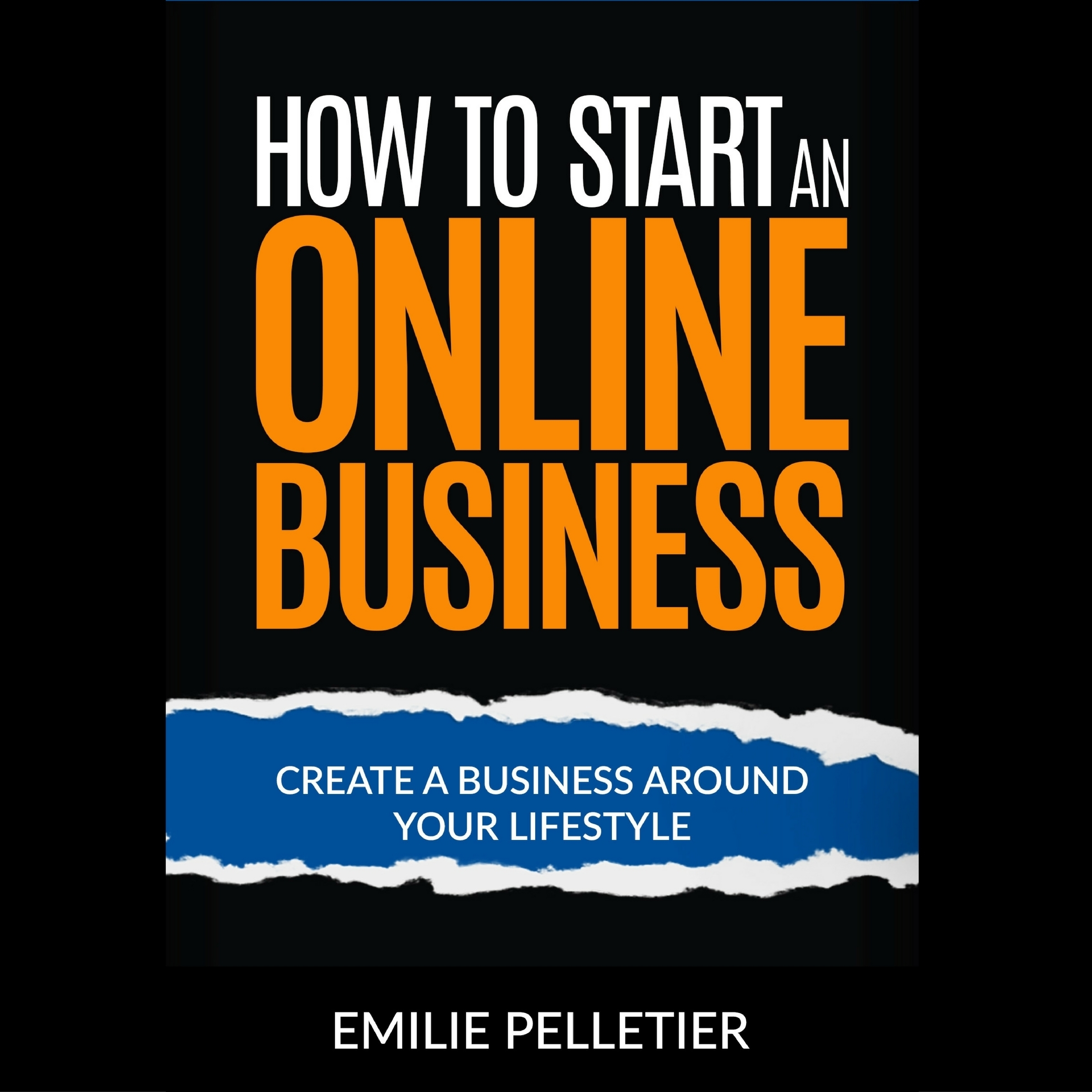 Printable How to Start an Online Business Audiobook Cover Art