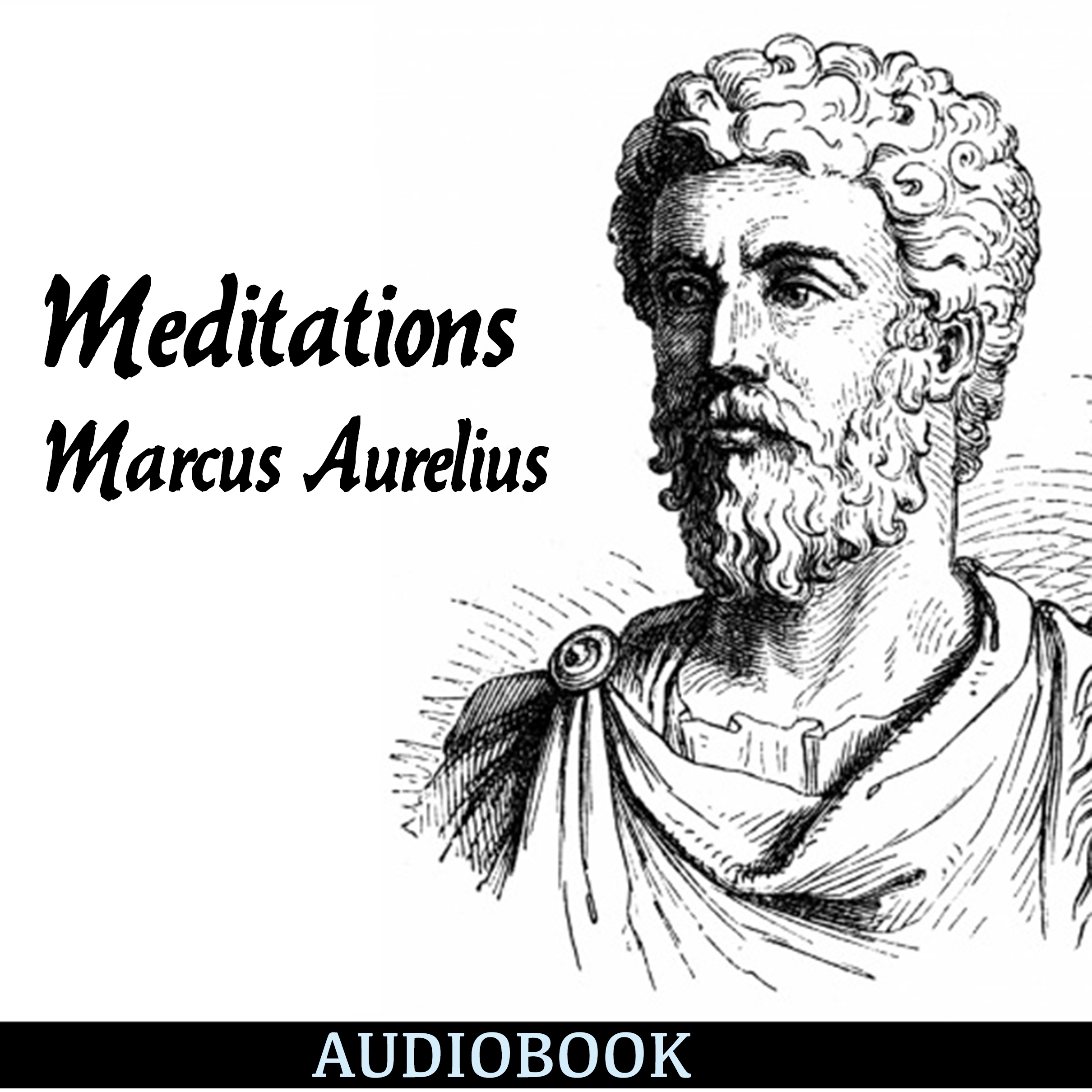 Printable Meditations Audiobook Cover Art