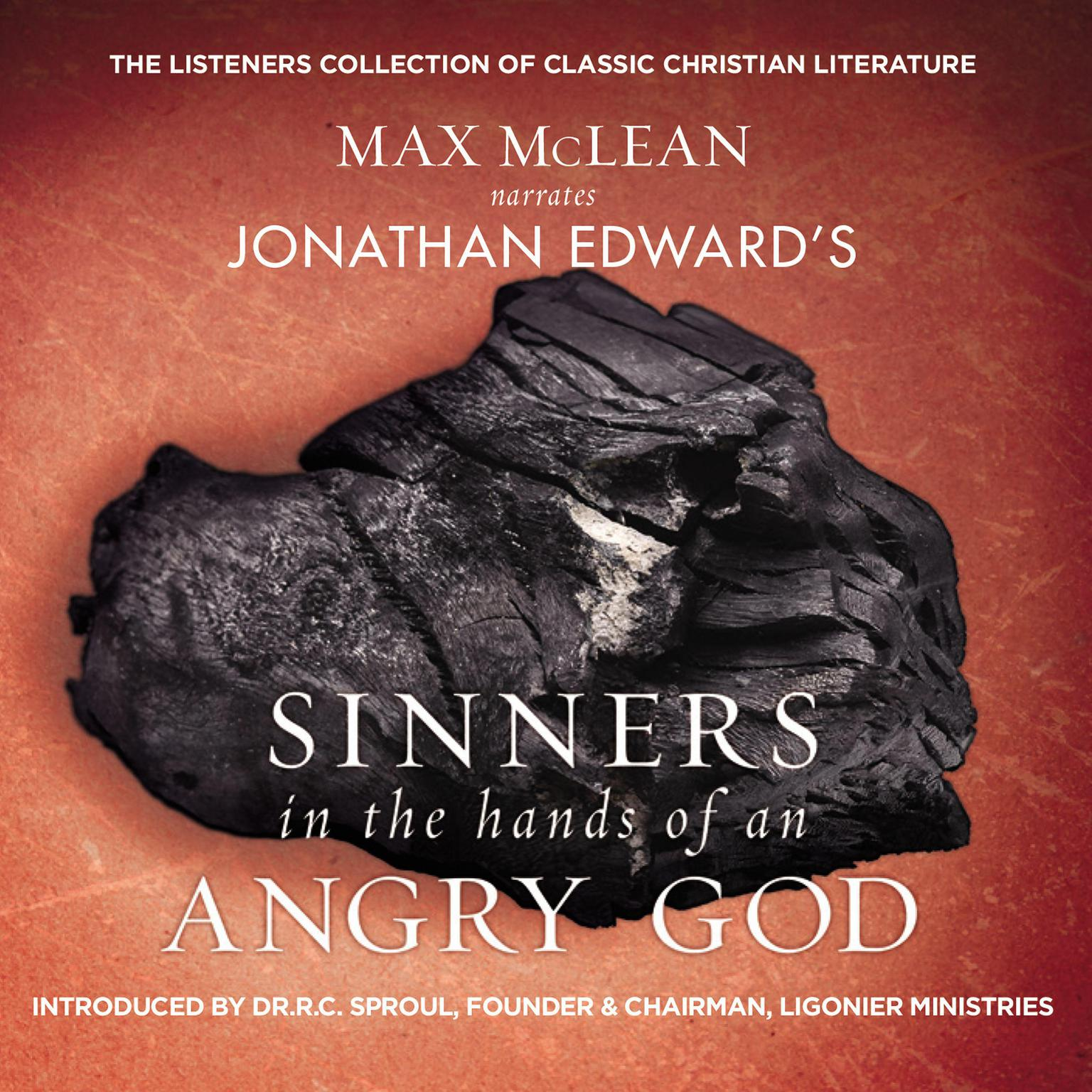 Printable Jonathan Edwards' Sinners in the Hands of an Angry God: The Most Powerful Sermon Ever Preached on American Soil Audiobook Cover Art