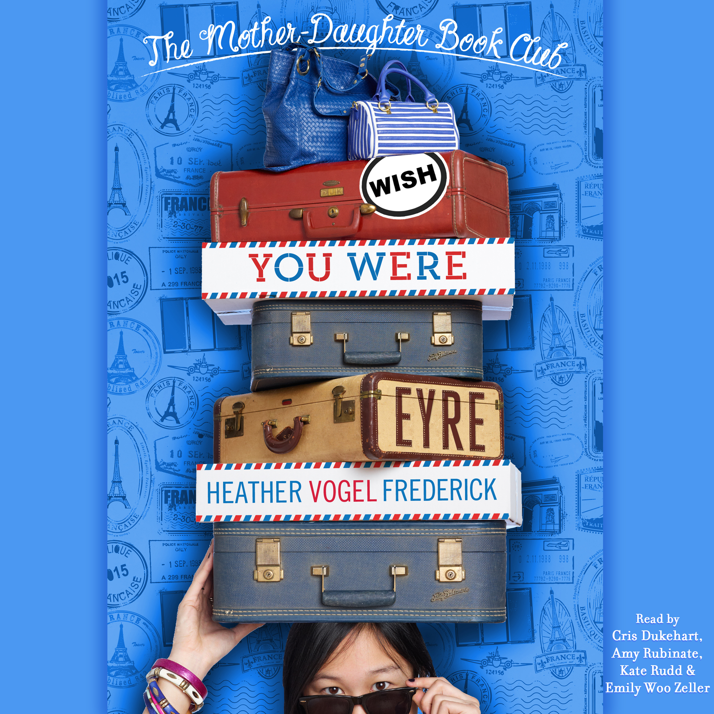 Printable Wish You Were Eyre: Mother-Daughter Book Club Series #6 Audiobook Cover Art