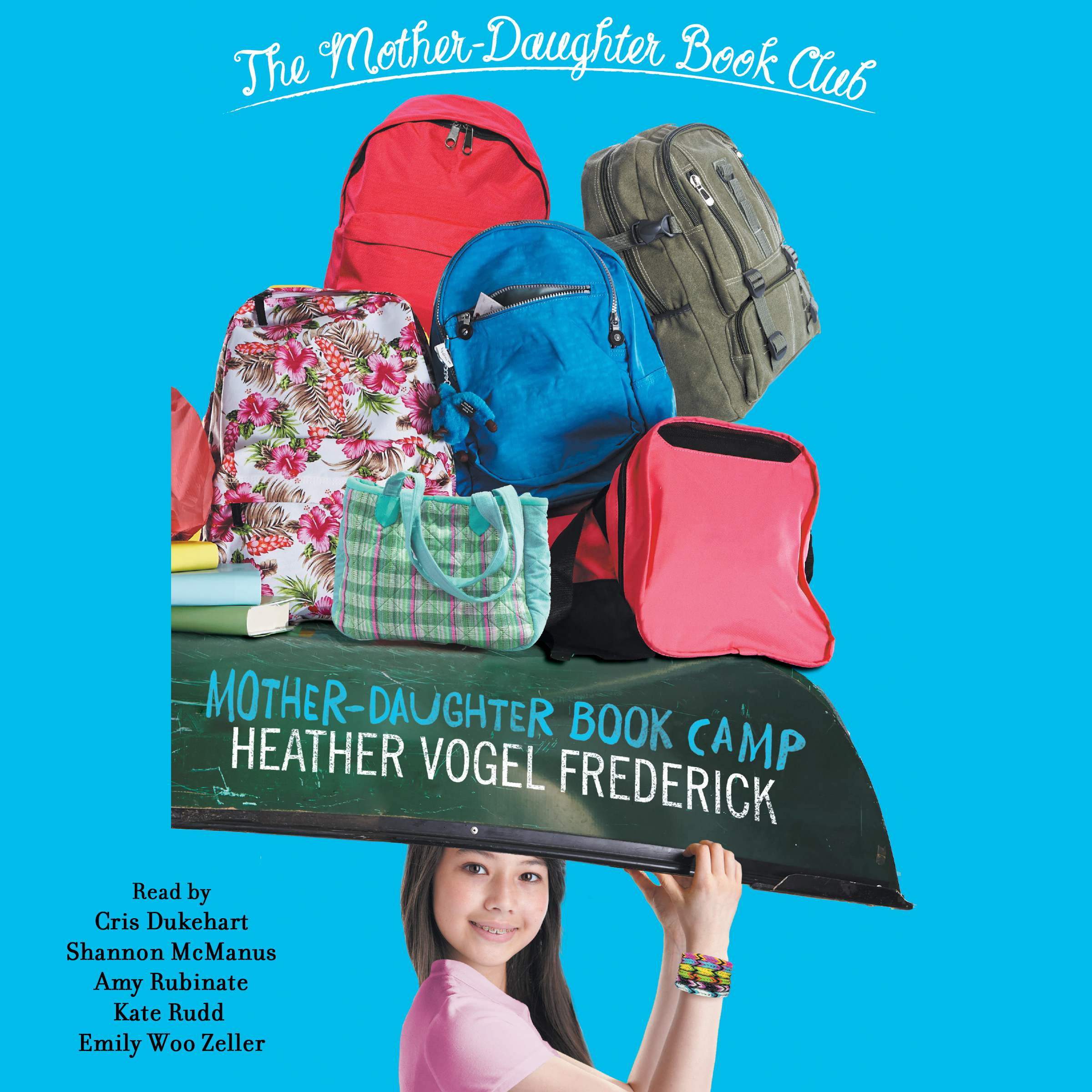 Printable Mother-Daughter Book Camp Audiobook Cover Art