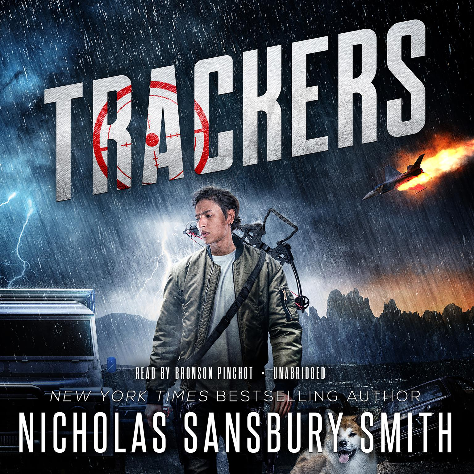 Printable Trackers Audiobook Cover Art